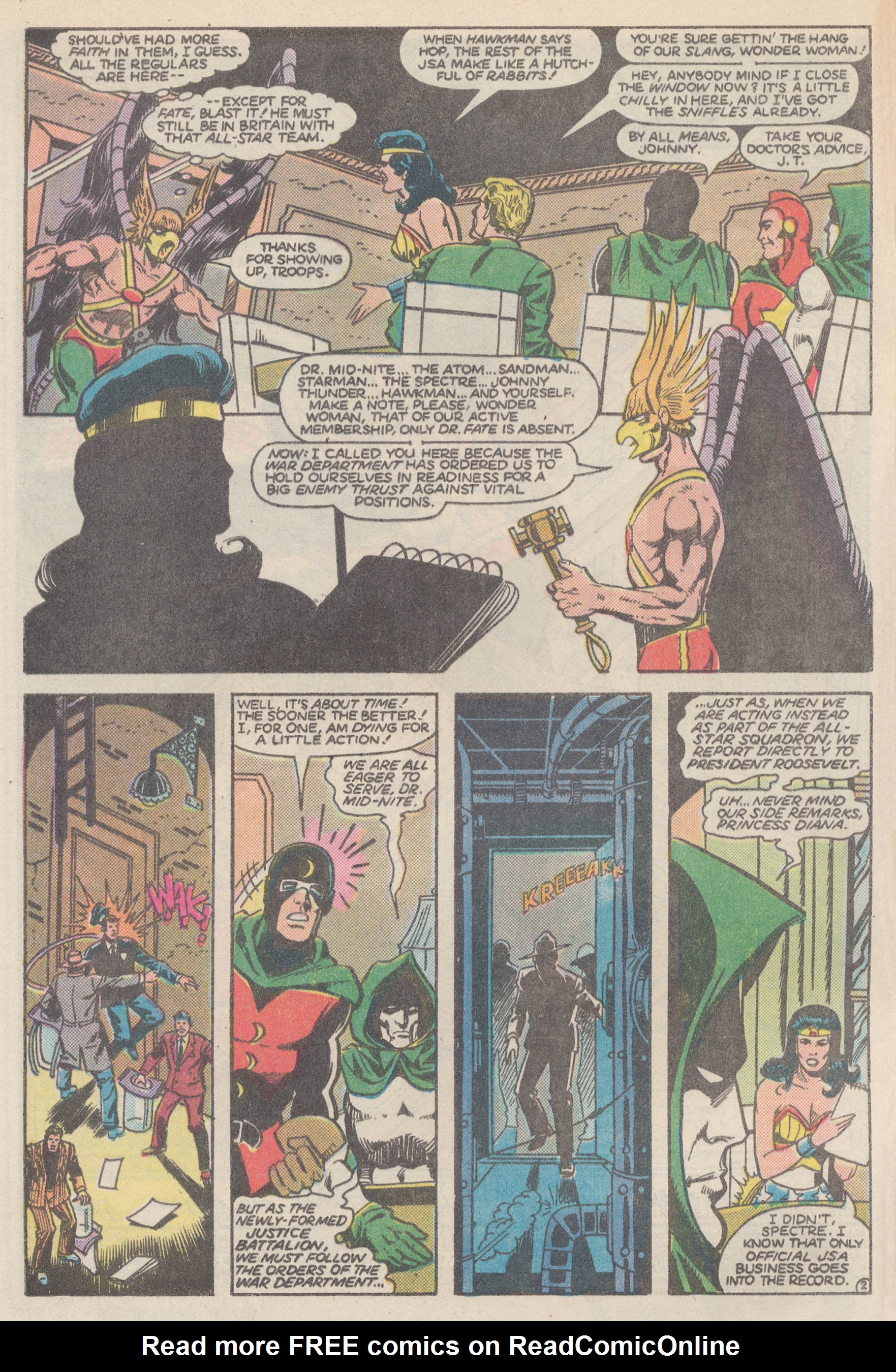 Read online All-Star Squadron comic -  Issue #50 - 5