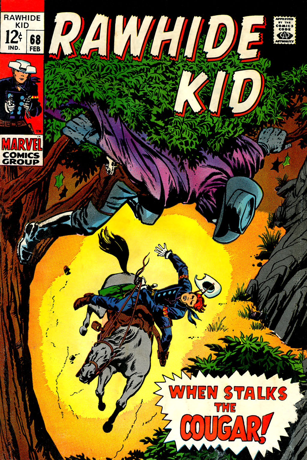 The Rawhide Kid (1955) issue 68 - Page 1