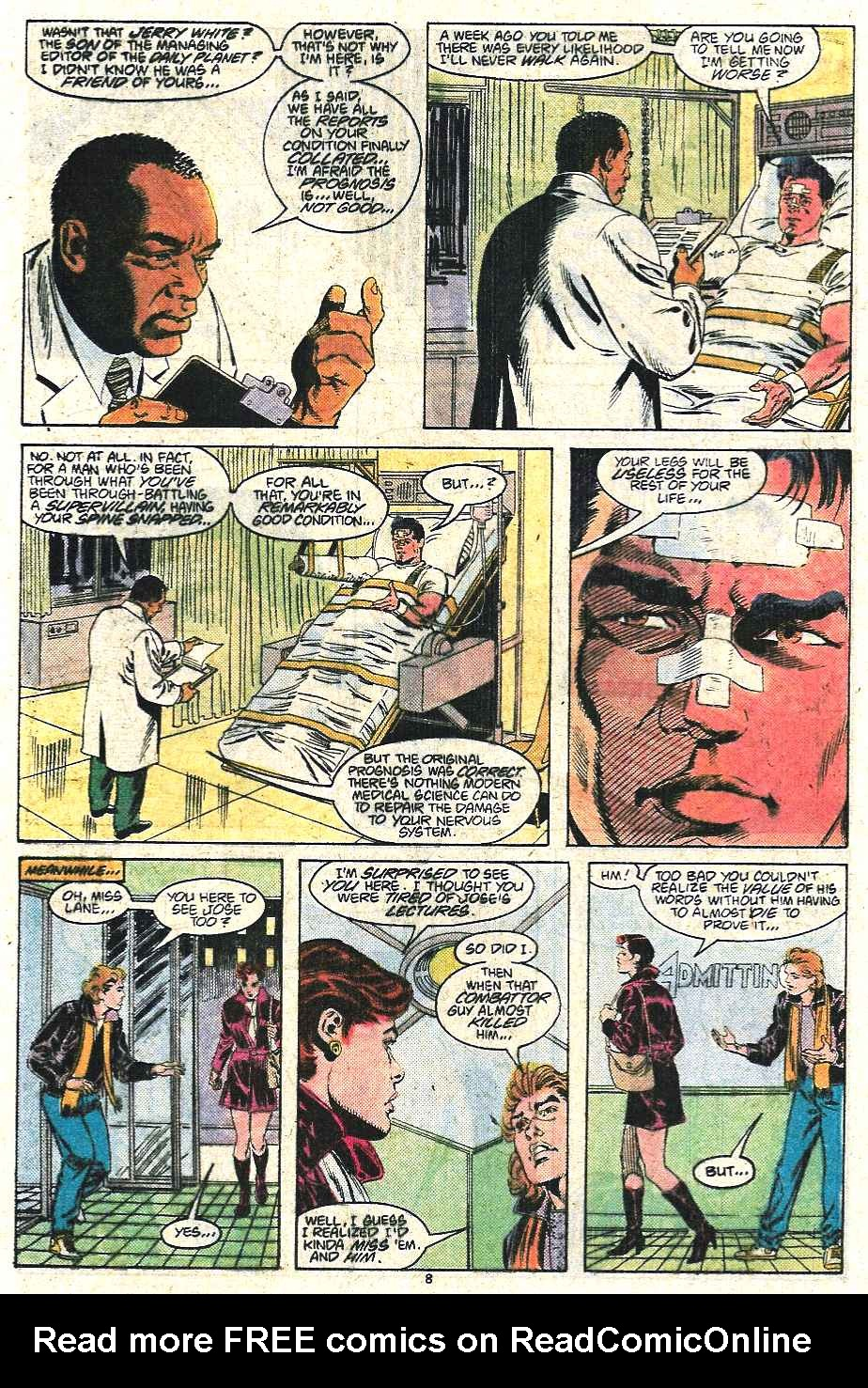 Read online Adventures of Superman (1987) comic -  Issue #440 - 9
