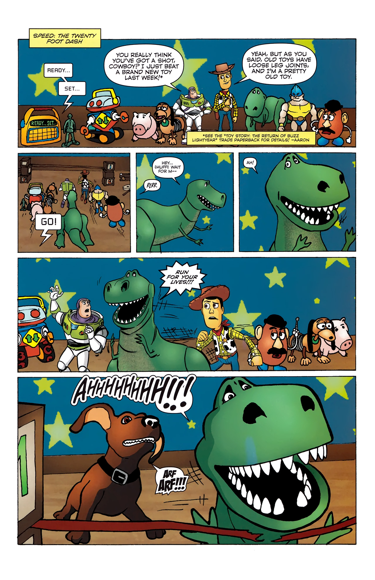 Read online Toy Story (2009) comic -  Issue #4 - 16