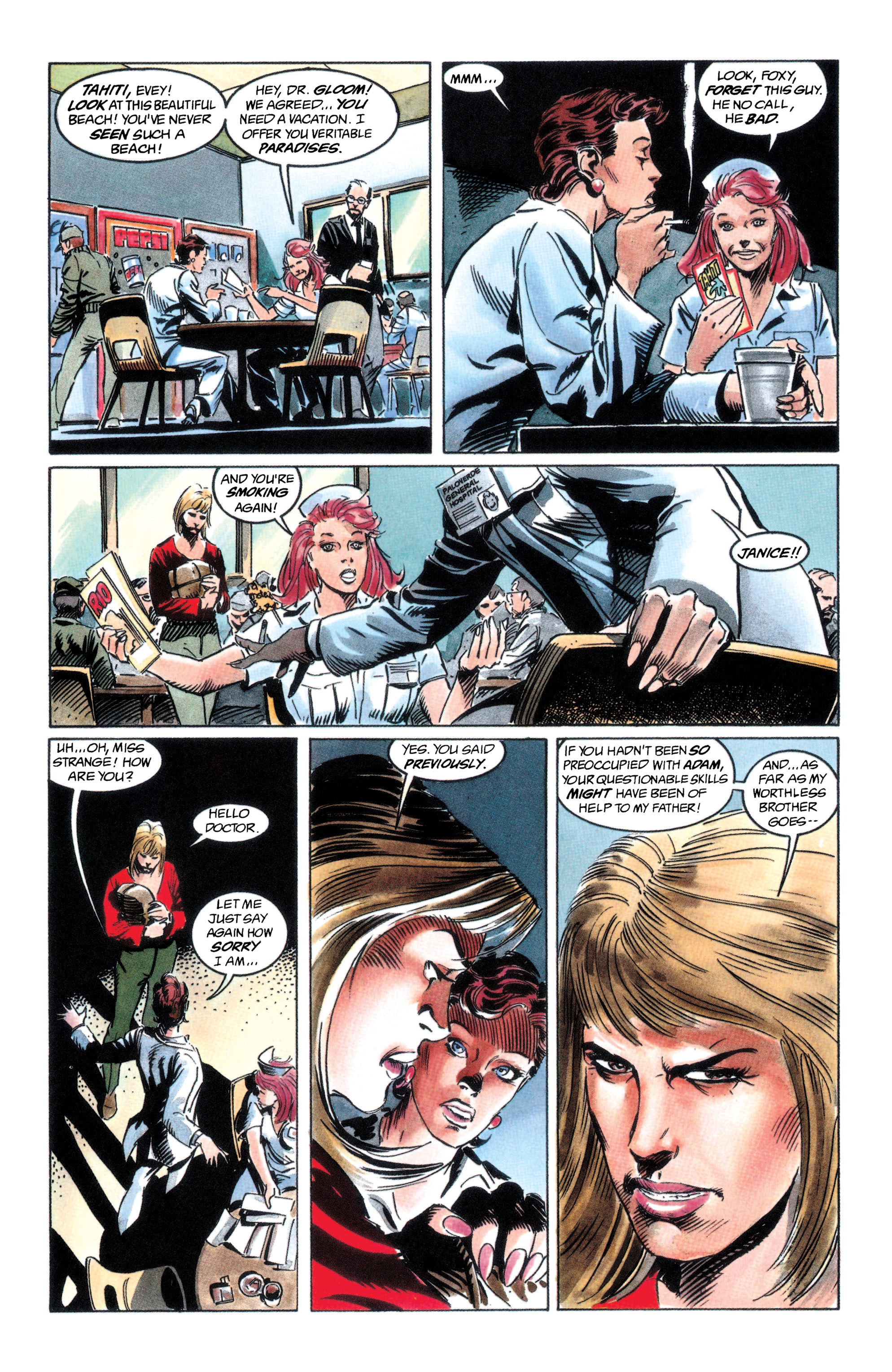 Read online Adam Strange (1990) comic -  Issue #2 - 23