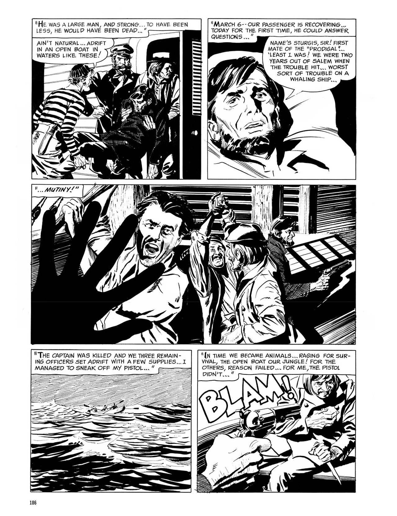 Read online Eerie Archives comic -  Issue # TPB 1 - 187