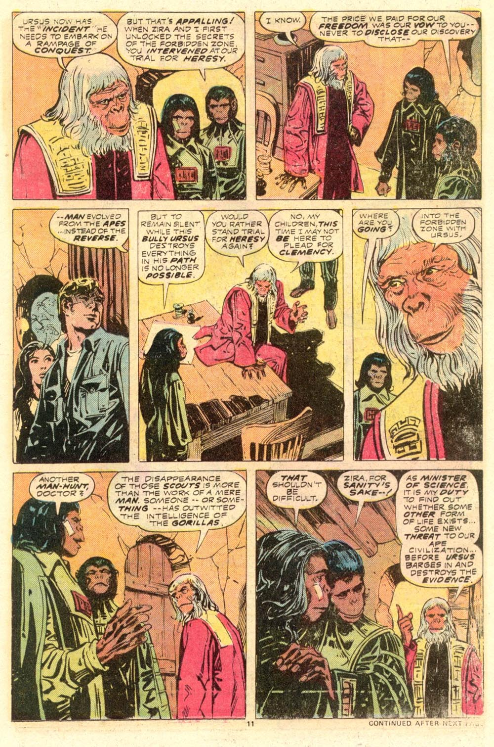 Read online Adventures on the Planet of the Apes comic -  Issue #8 - 8