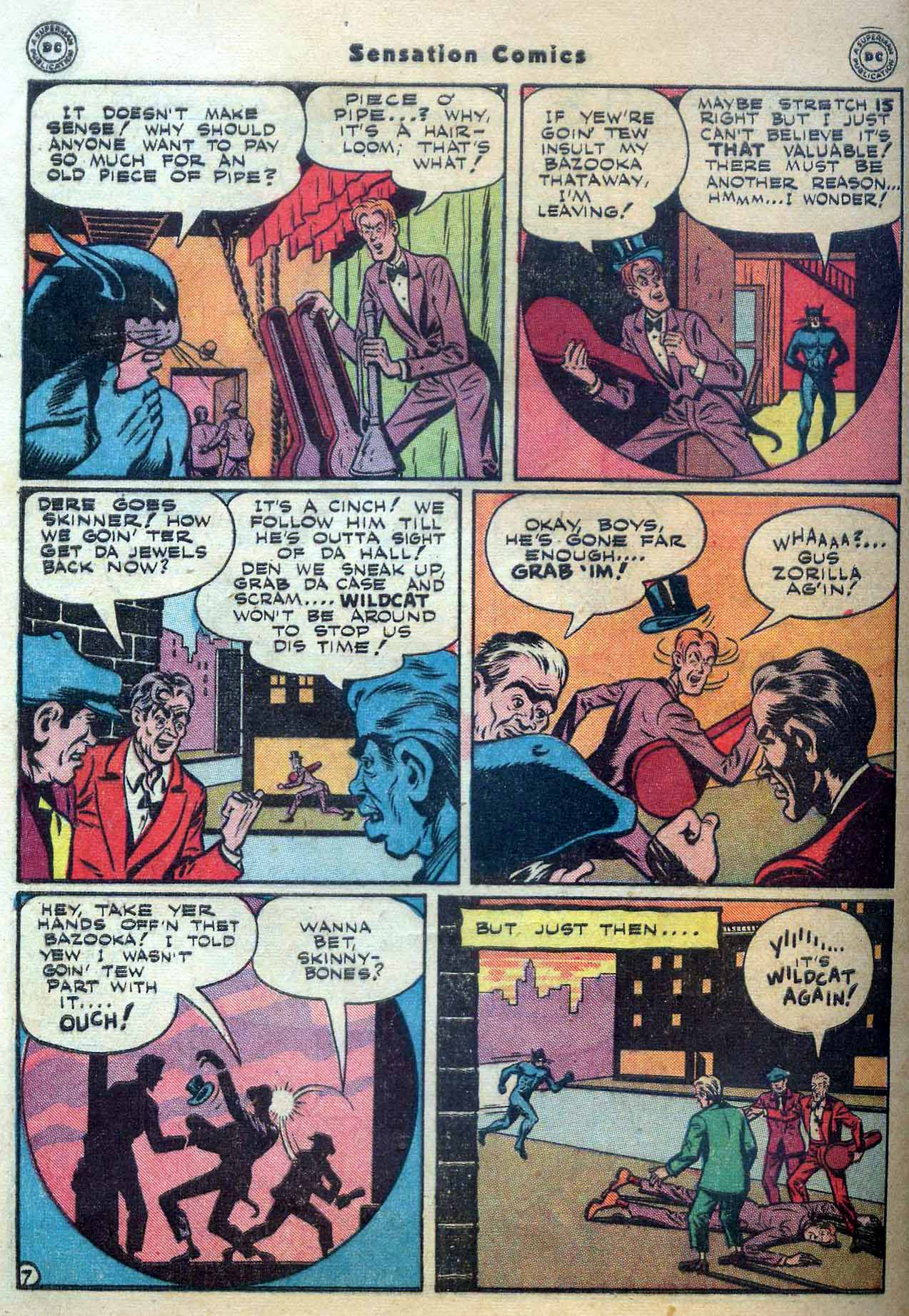 Read online Sensation (Mystery) Comics comic -  Issue #56 - 48