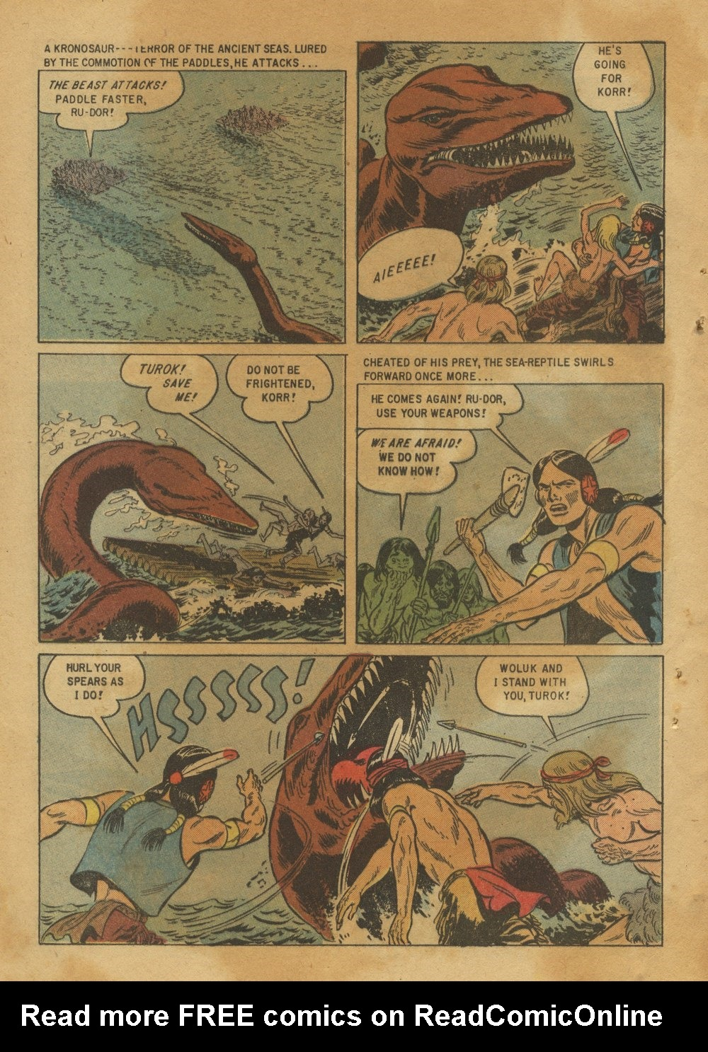 Read online Turok, Son of Stone comic -  Issue #12 - 32