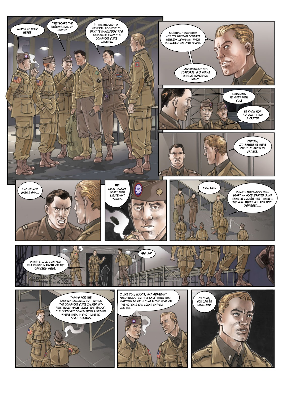 Read online Opération Overlord comic -  Issue #1 - 6
