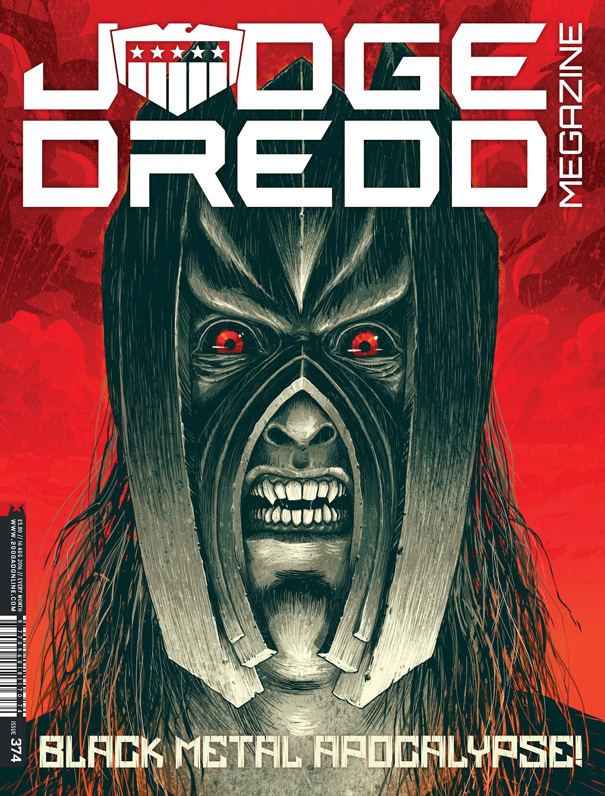 Judge Dredd Megazine (Vol. 5) issue 374 - Page 1
