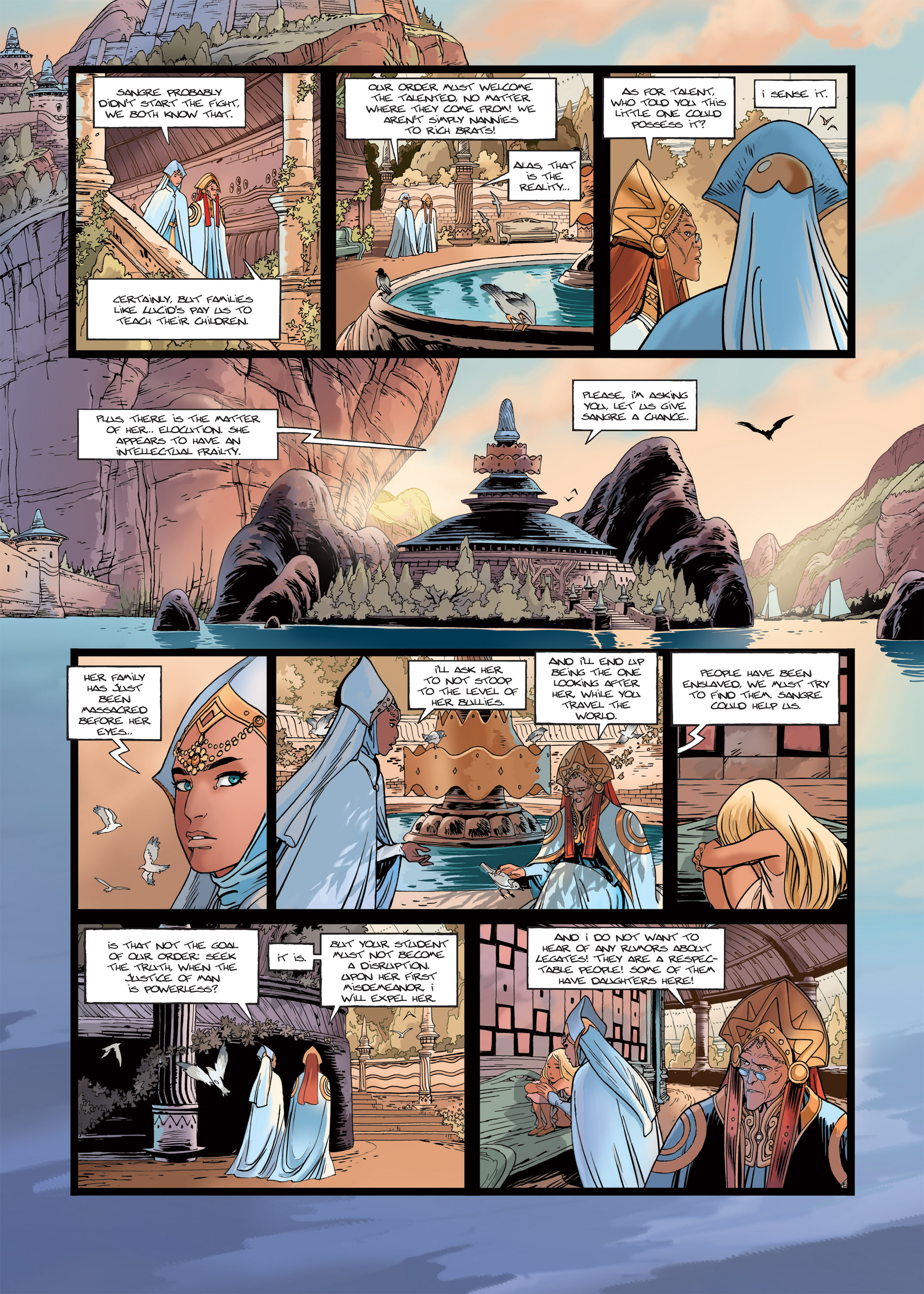 Read online Sangre Vol. 1: Sangre the Survivor comic -  Issue # Full - 18
