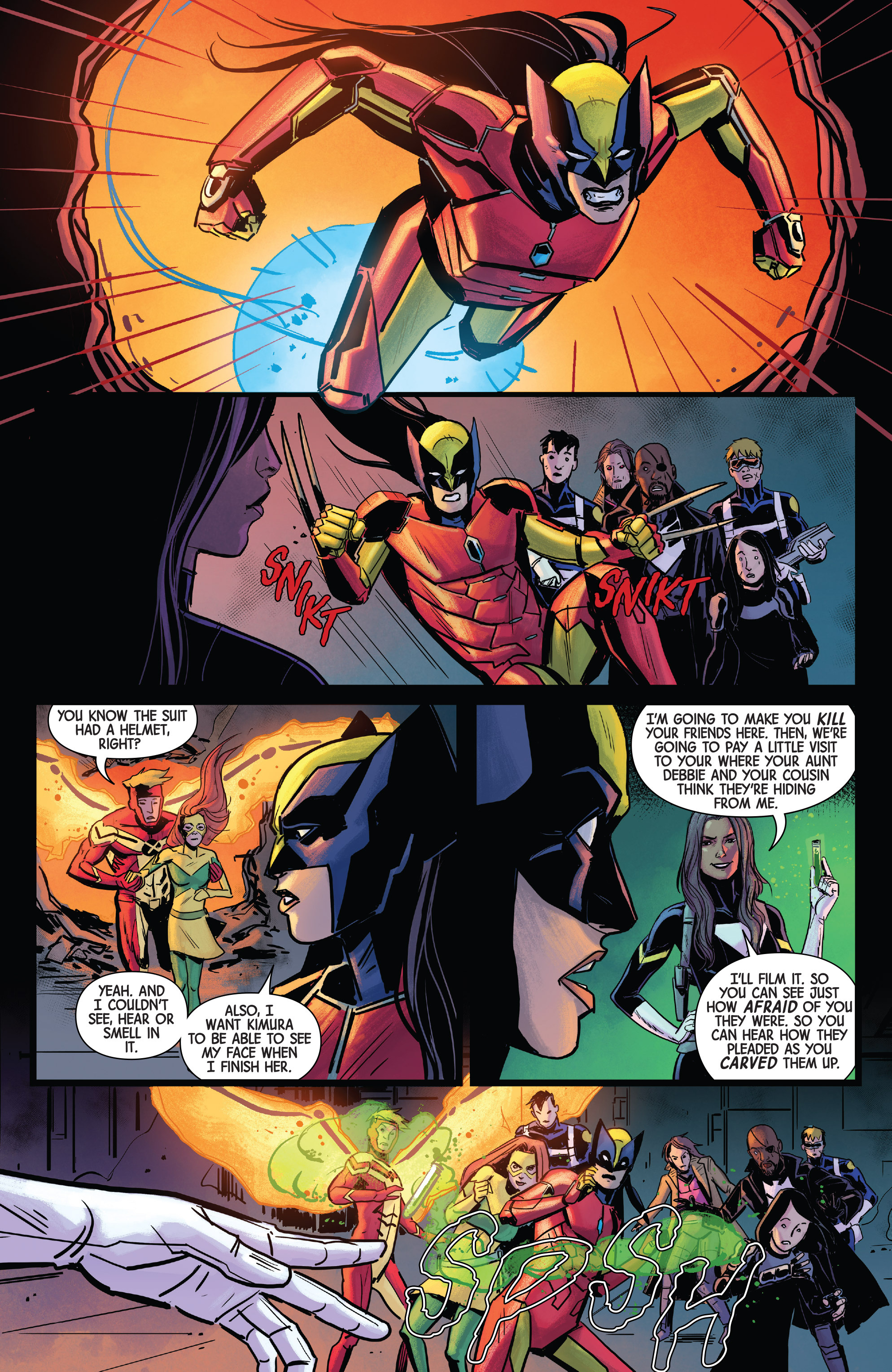 Read online All-New Wolverine (2016) comic -  Issue #18 - 11