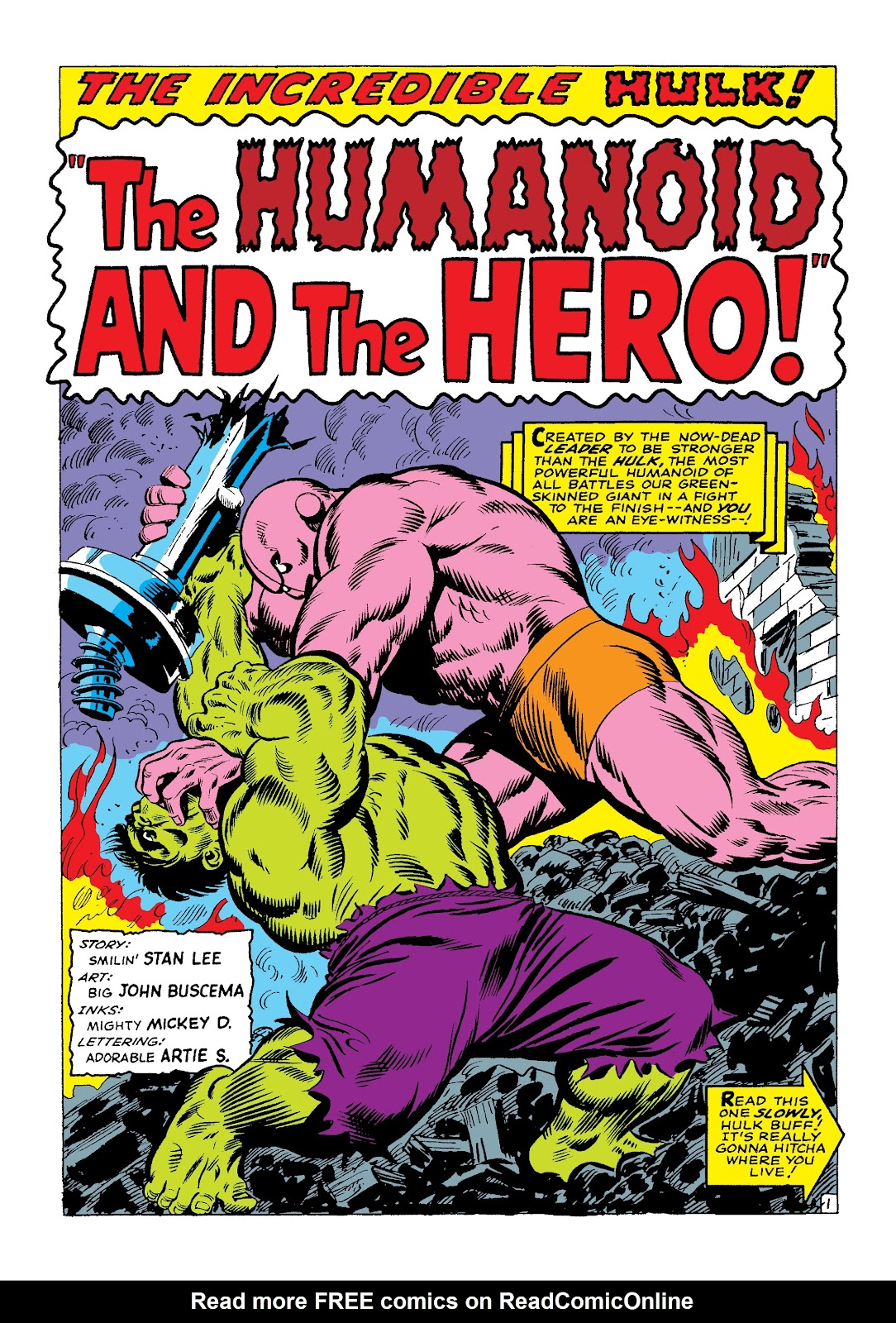 Read online Marvel Masterworks: The Incredible Hulk comic -  Issue # TPB 3 (Part 1) - 85