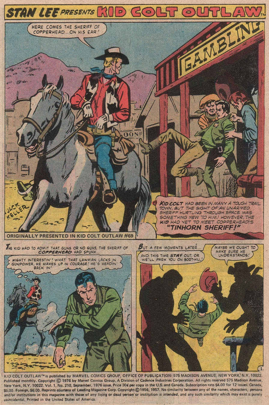 Kid Colt Outlaw issue 210 - Page 3