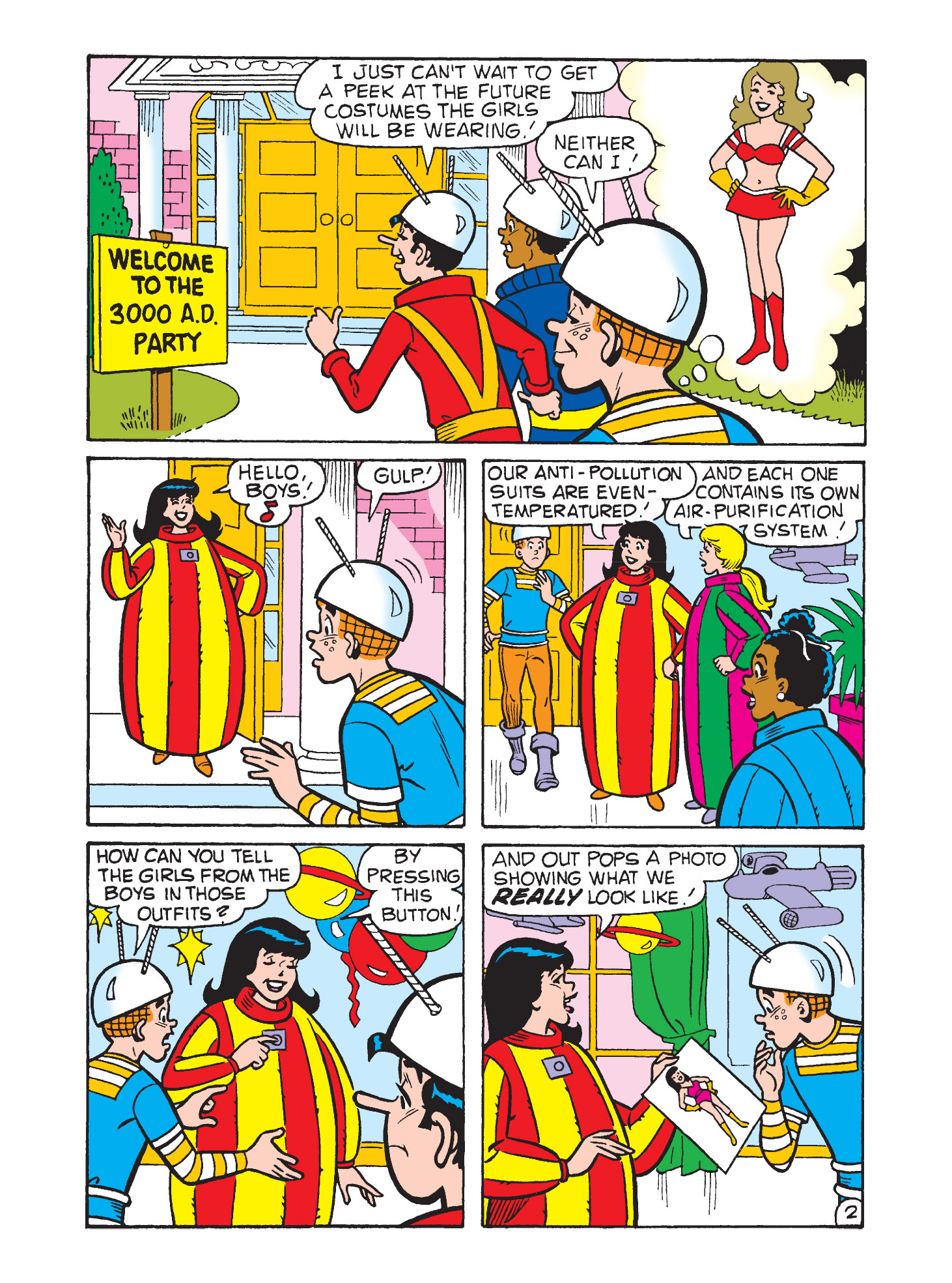 Read online Archie's Funhouse Double Digest comic -  Issue #9 - 73
