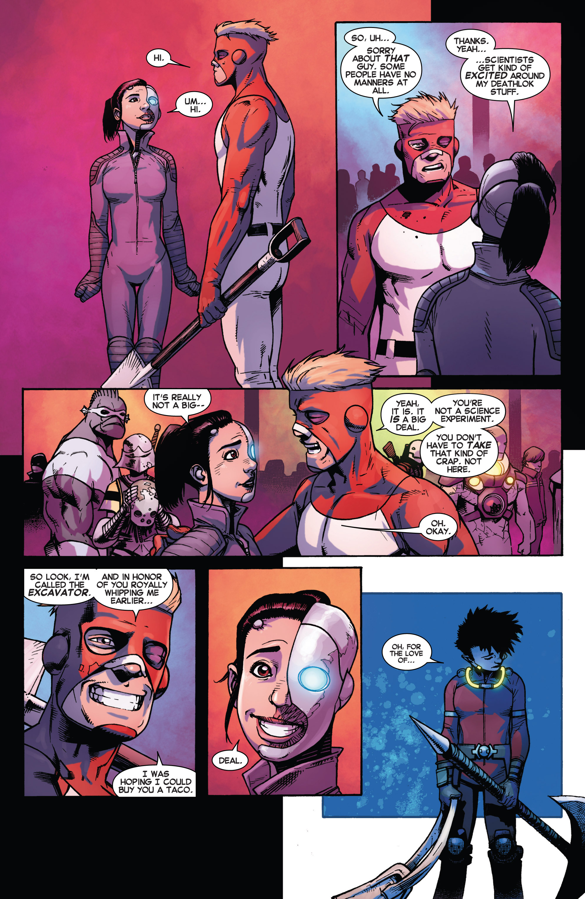 Read online Avengers Undercover comic -  Issue #2 - 17