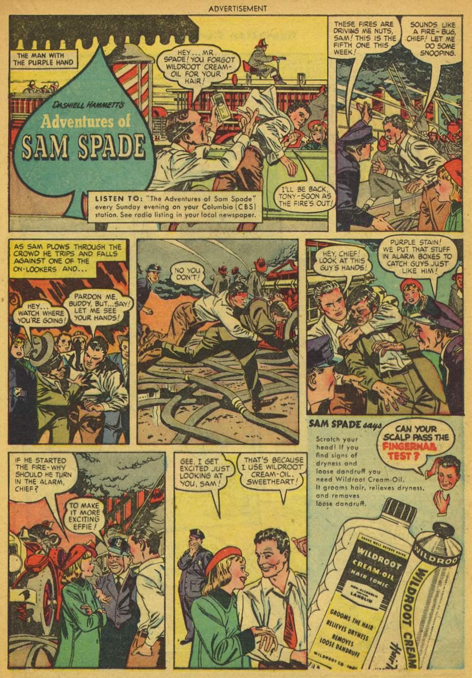 Read online Sensation (Mystery) Comics comic -  Issue #80 - 22