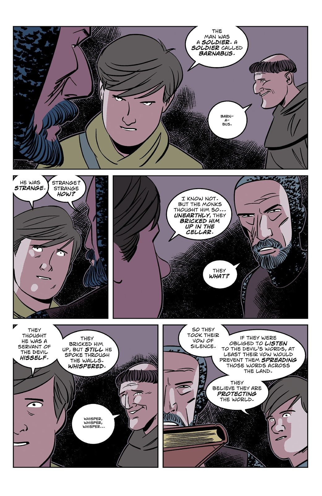 Read online Dark Ages comic -  Issue #2 - 22