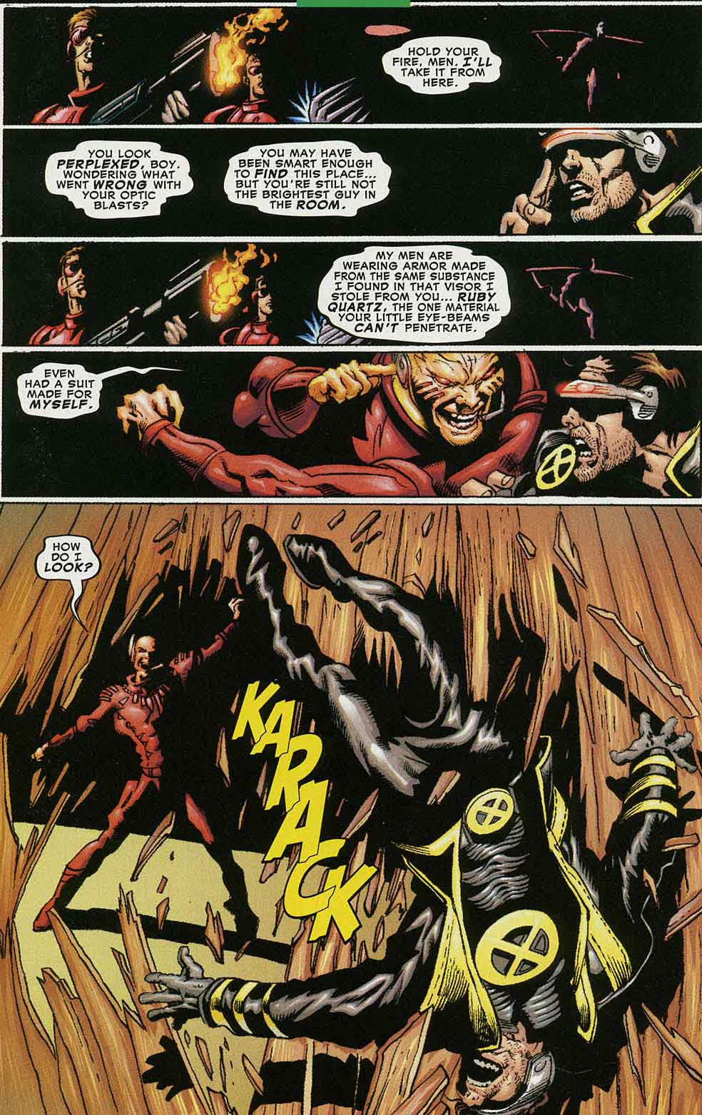 Read online Cyclops (2001) comic -  Issue #4 - 13