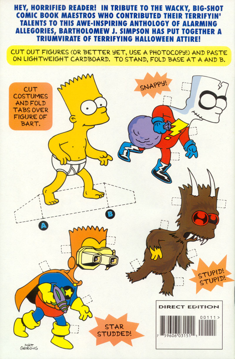 Read online Treehouse of Horror comic -  Issue #1 - 47