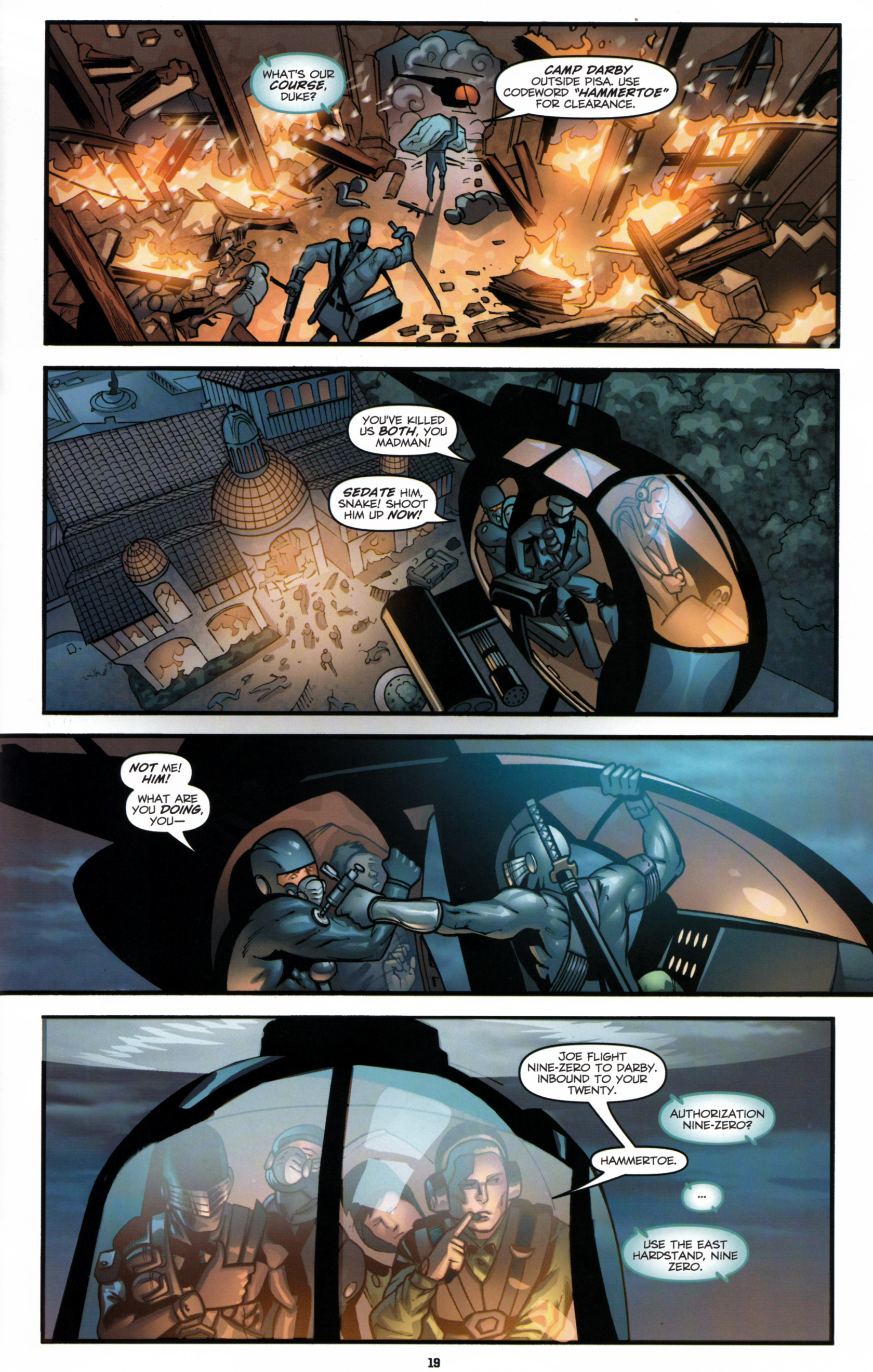 Read online G.I. Joe: Snake Eyes comic -  Issue #6 - 22