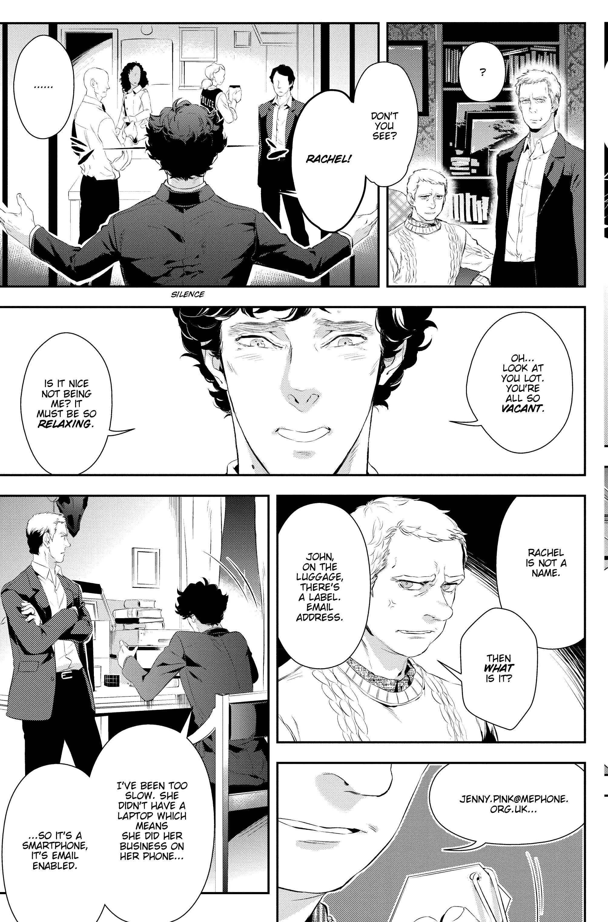 Read online Sherlock: A Study In Pink comic -  Issue #5 - 15