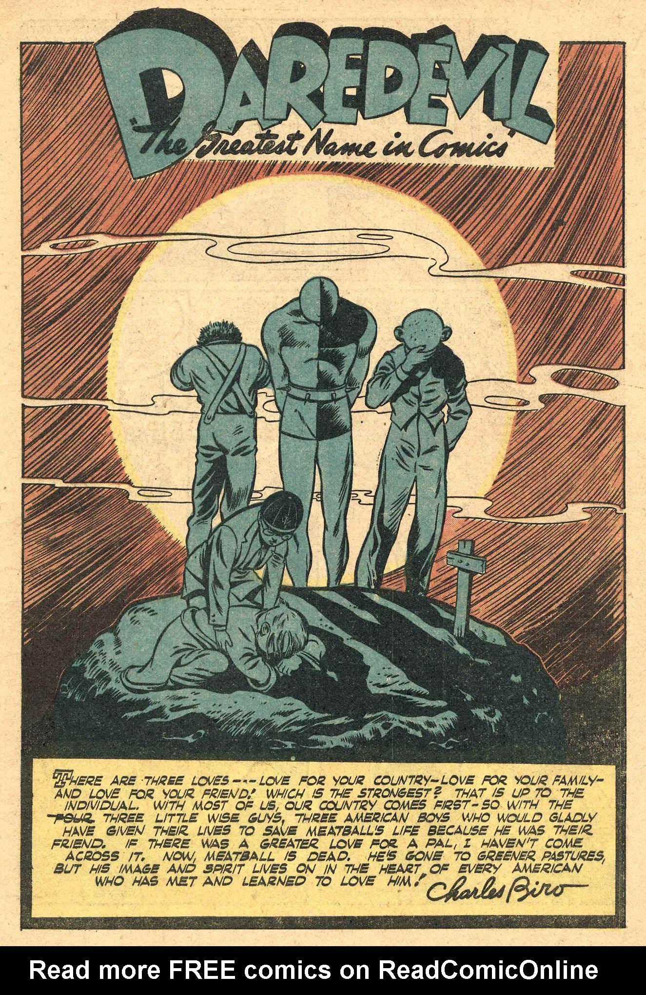 Daredevil (1941) issue 16 - Page 3