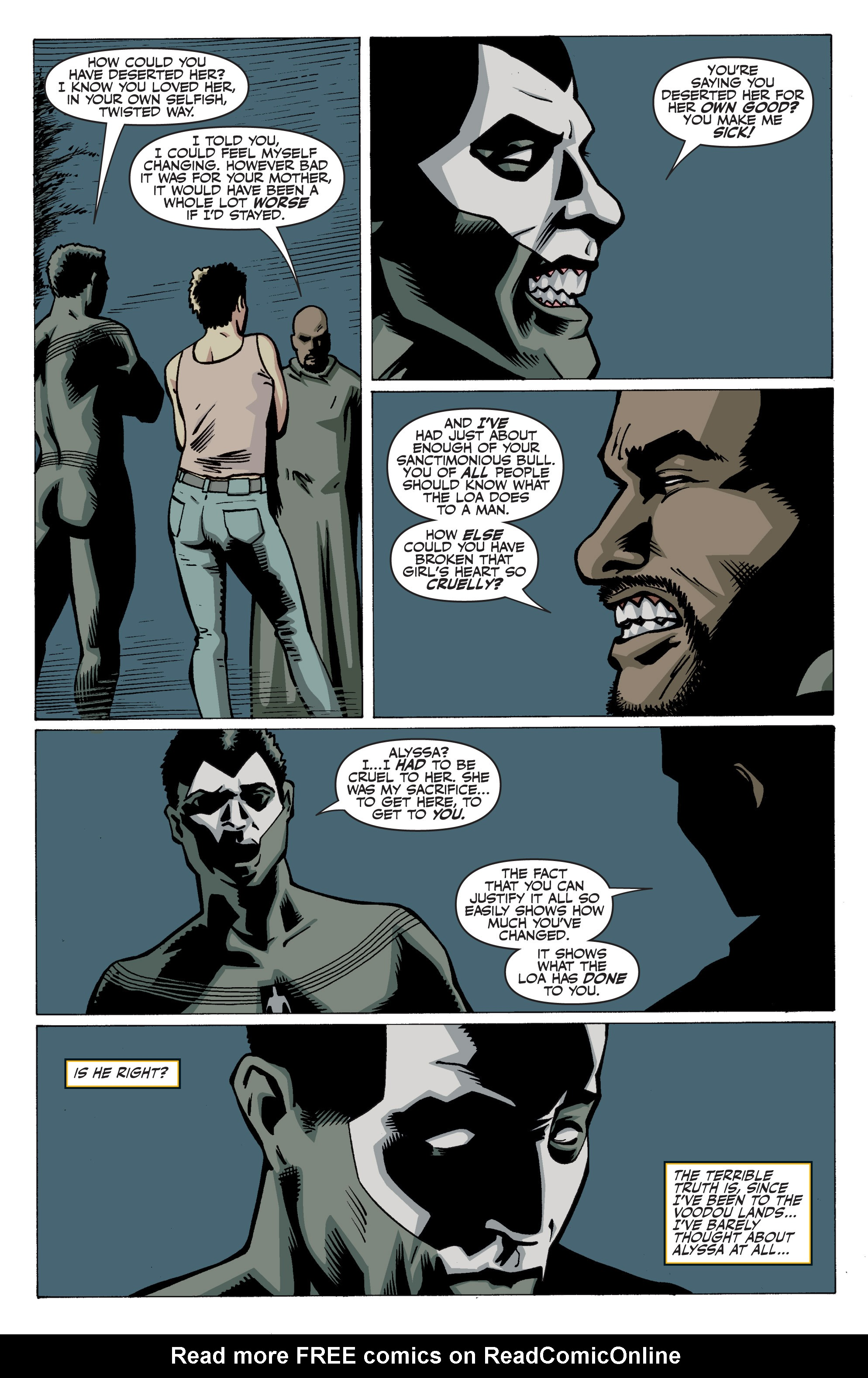 Read online Shadowman: End Times comic -  Issue #3 - 18