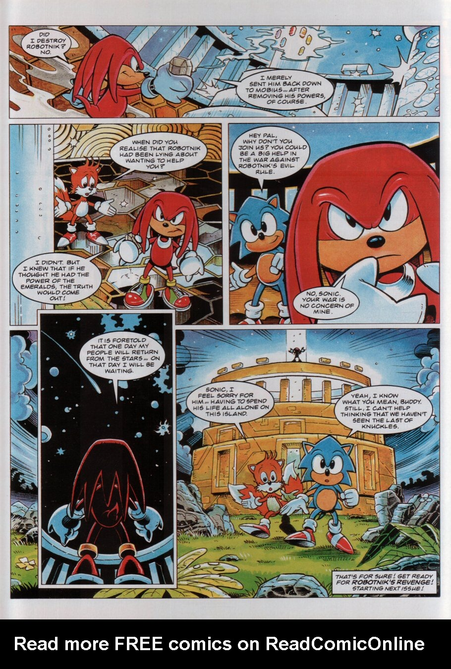 Read online Sonic the Comic comic -  Issue #36 - 9