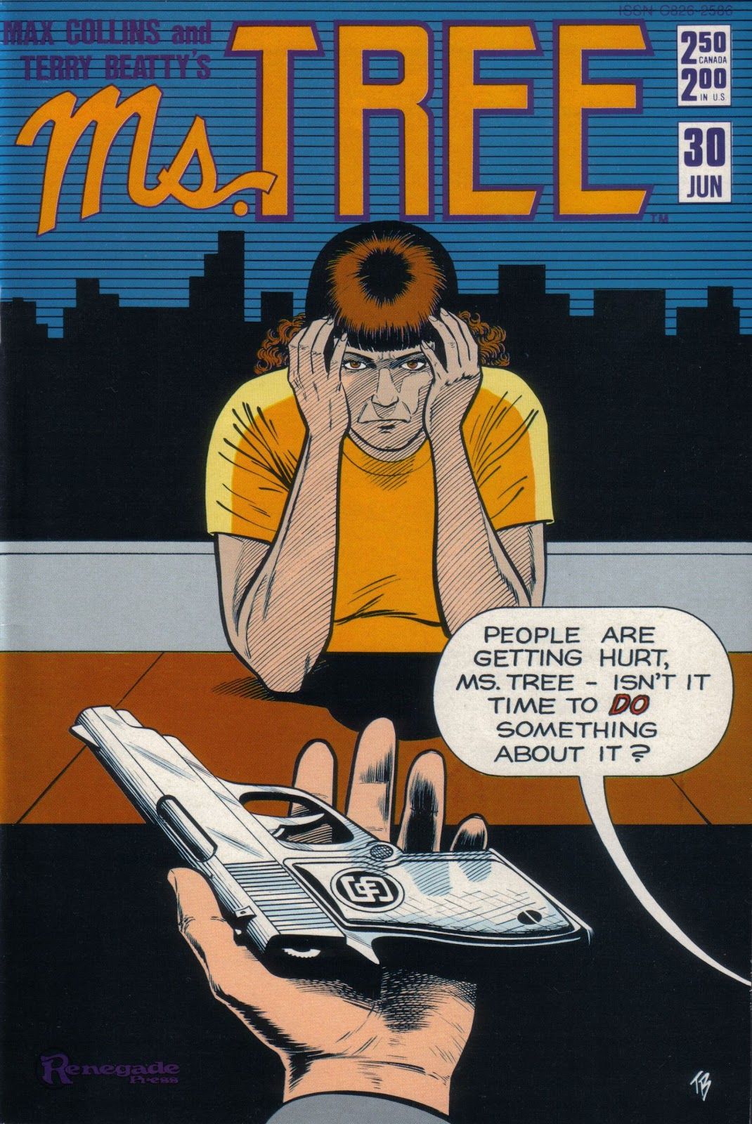Ms. Tree (1983) issue 30 - Page 1