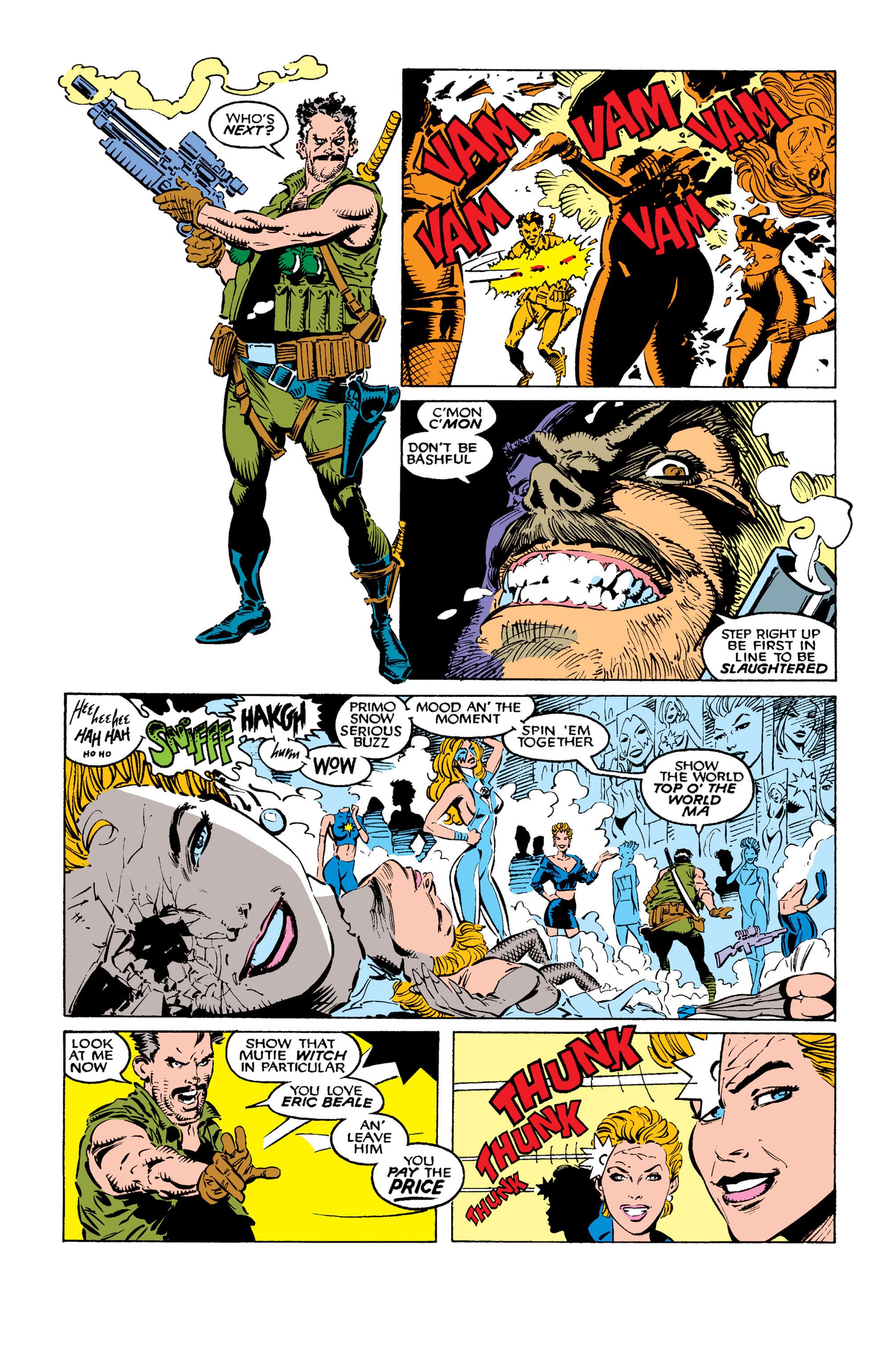 Read online Uncanny X-Men (1963) comic -  Issue #260 - 3