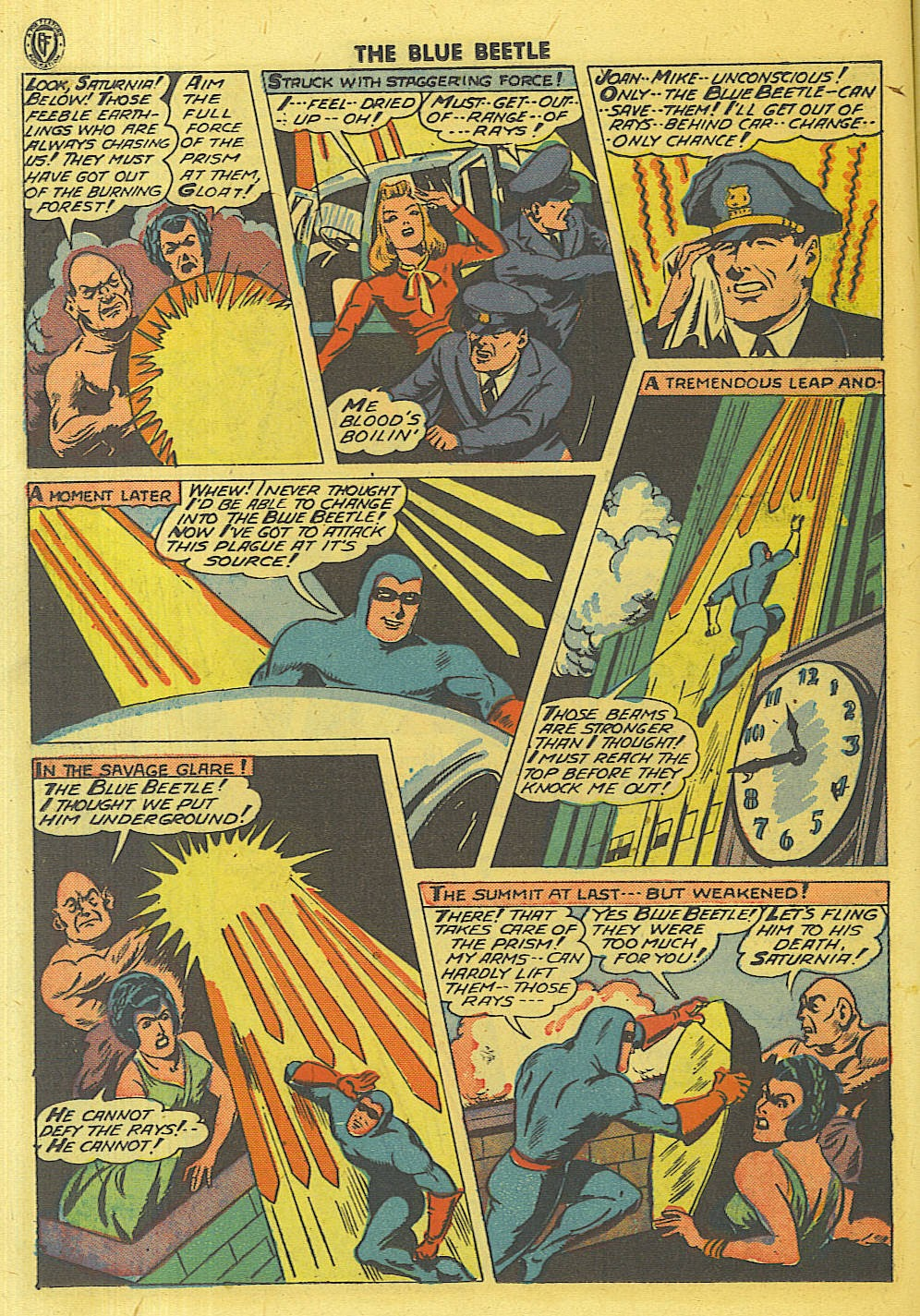 The Blue Beetle issue 35 - Page 17