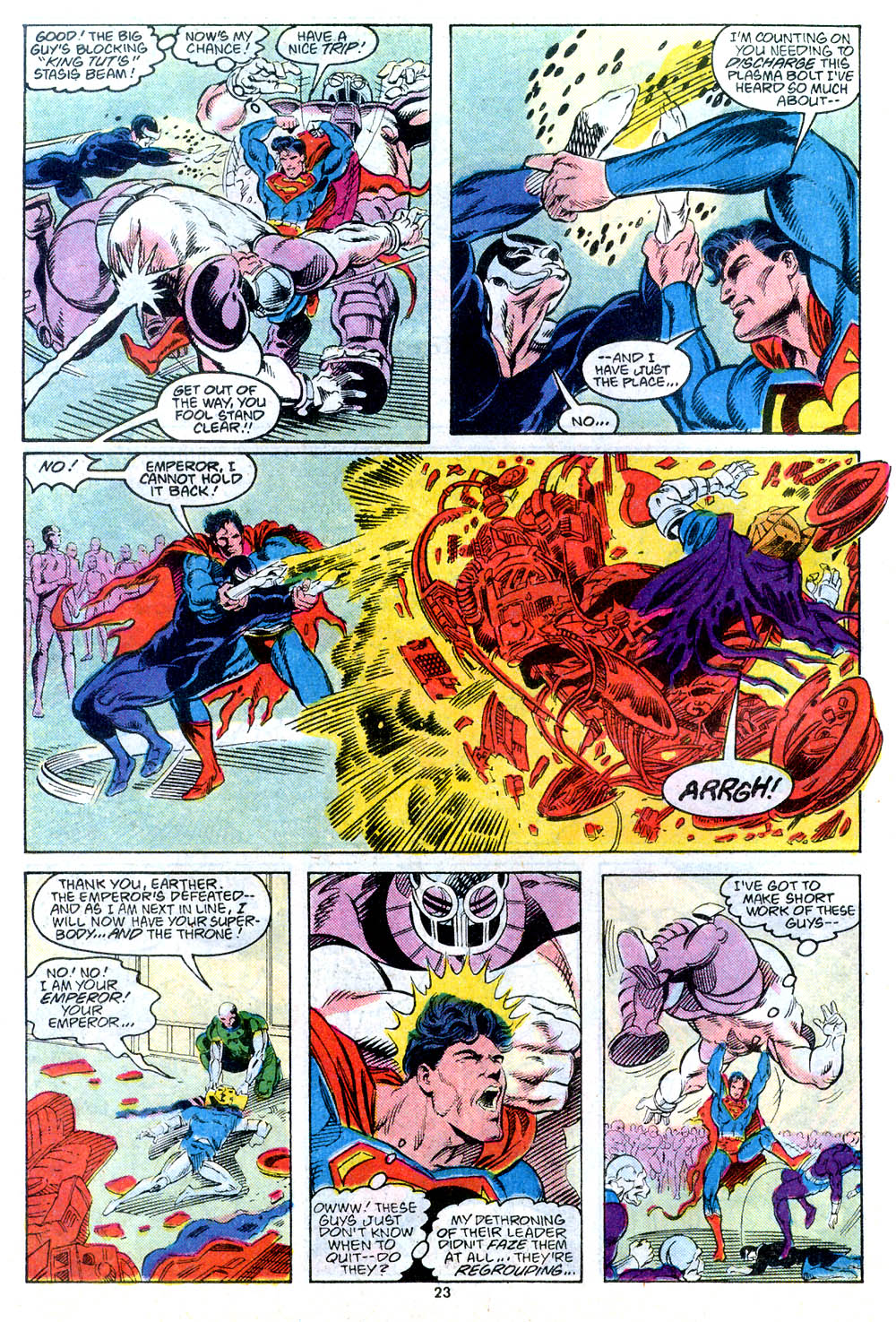 Read online Adventures of Superman (1987) comic -  Issue #443 - 25
