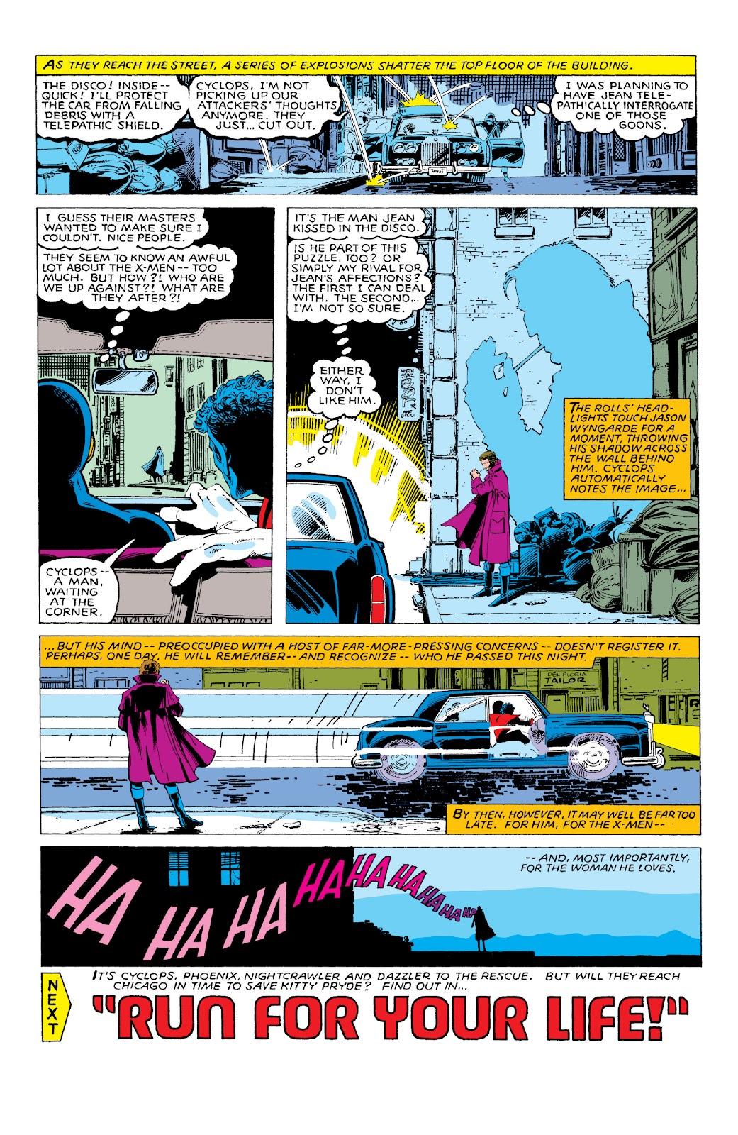 Read online X-Men Milestones: Dark Phoenix Saga comic -  Issue # TPB (Part 1) - 40