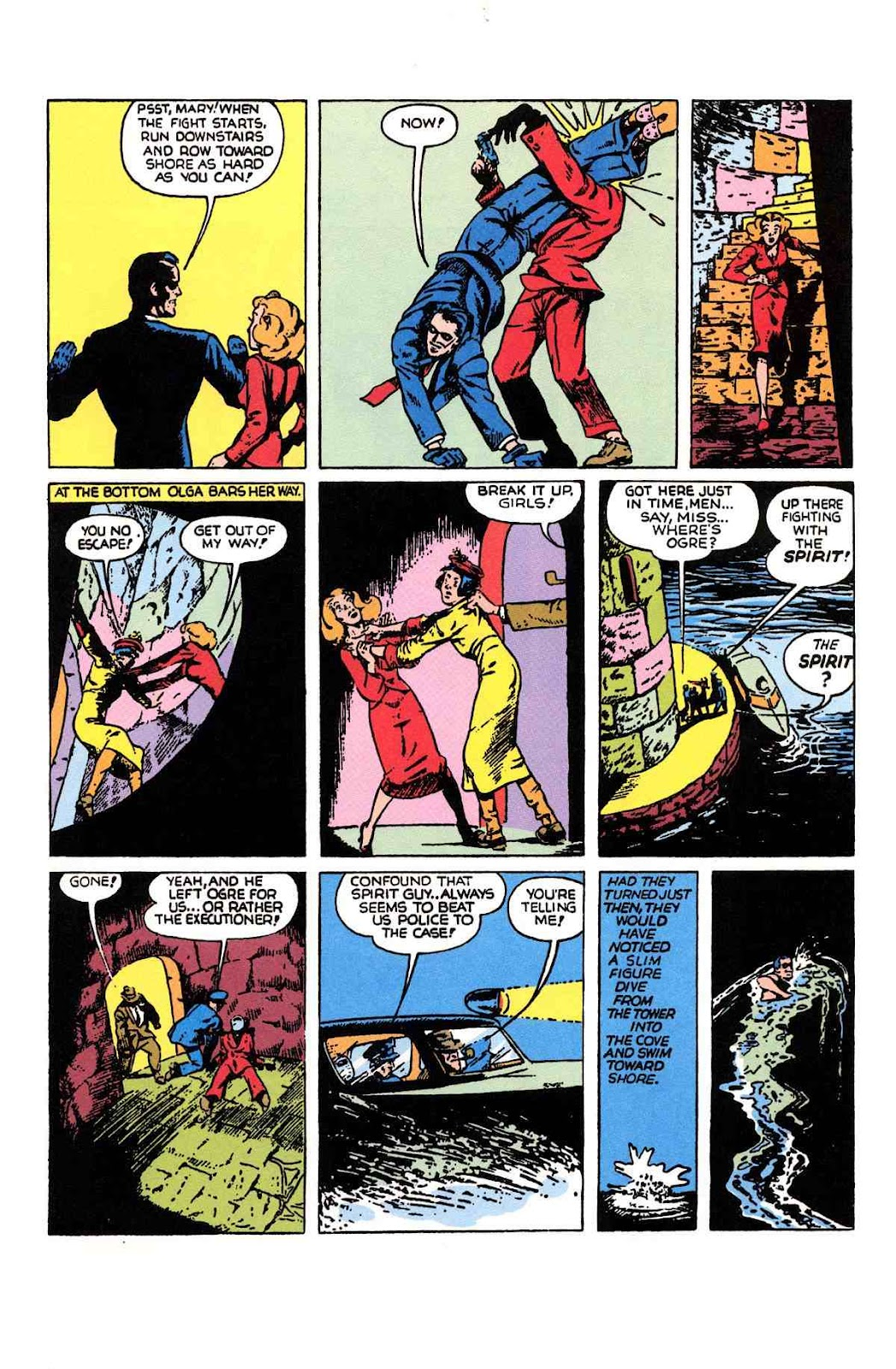 Read online Will Eisner's The Spirit Archives comic -  Issue # TPB 1 (Part 2) - 48