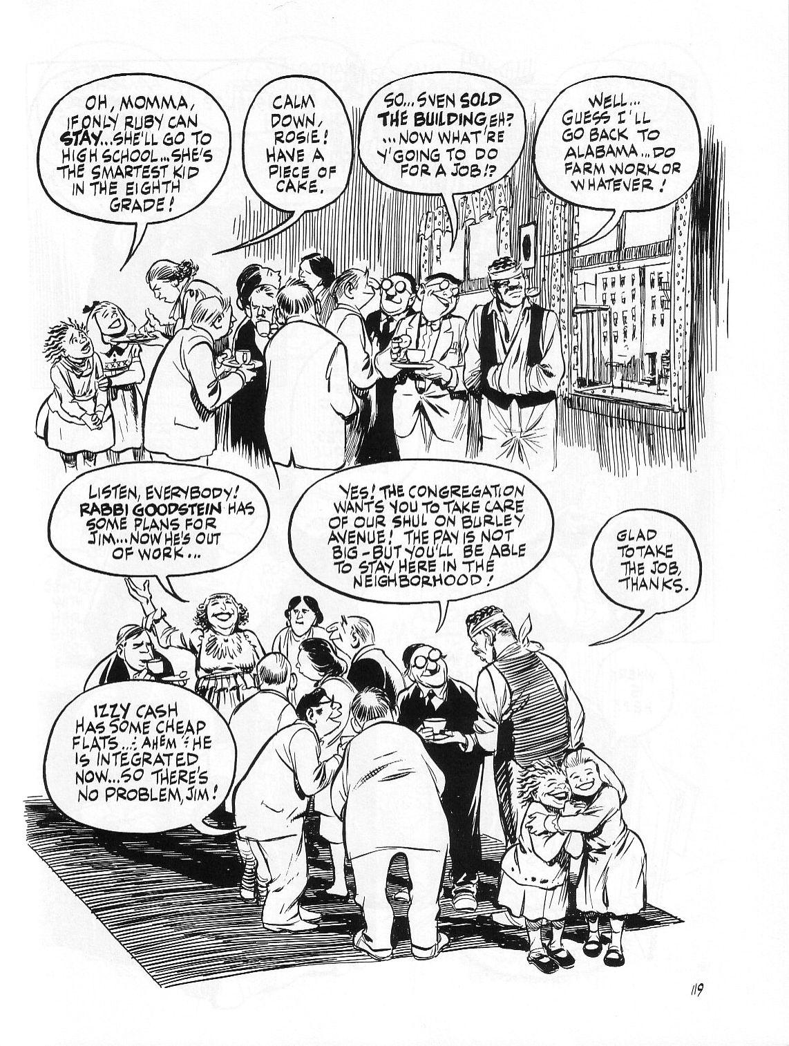Read online Dropsie Avenue, The Neighborhood comic -  Issue # Full - 121
