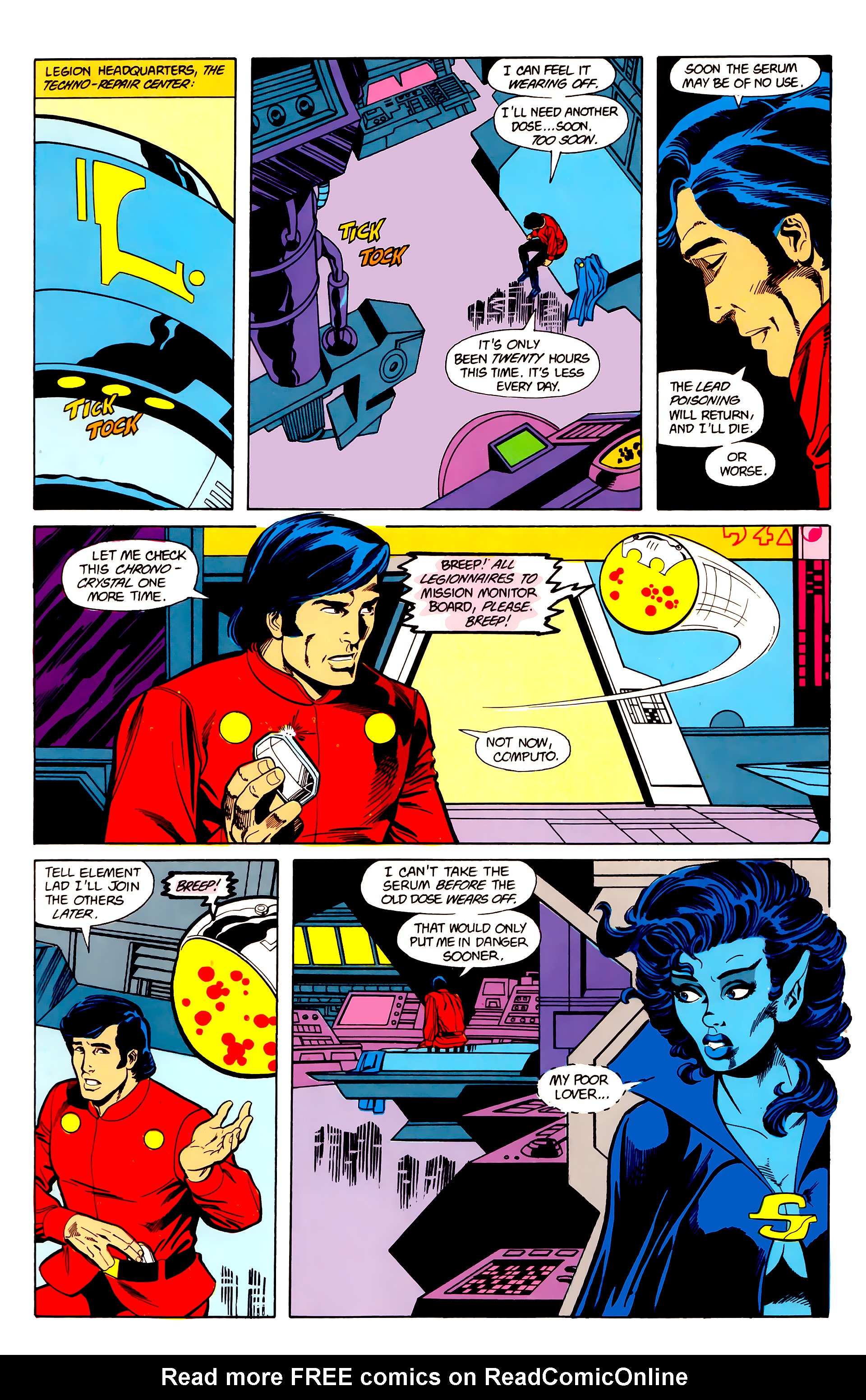 Legion of Super-Heroes (1984) 22 Page 12