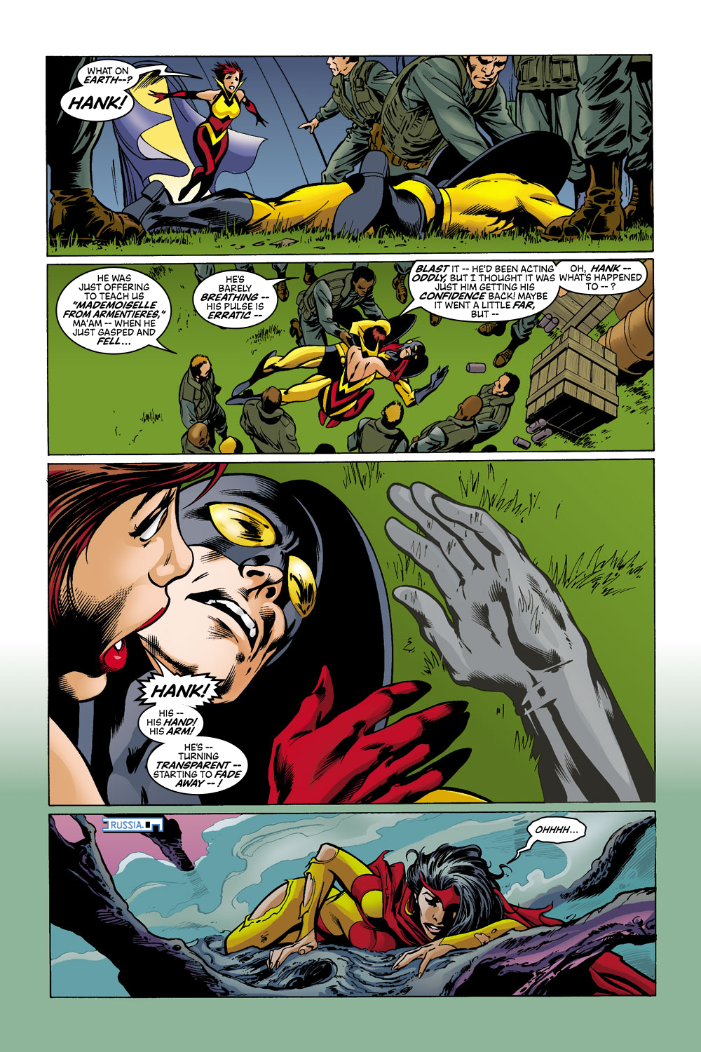 Read online Avengers (1998) comic -  Issue #43 - 21