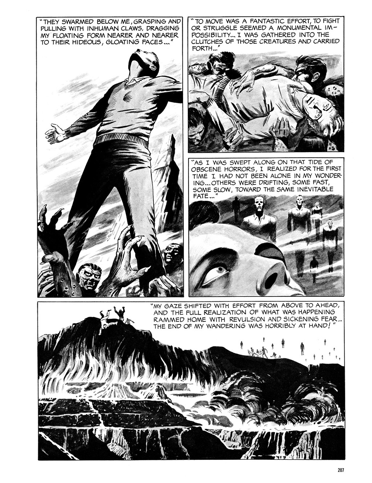 Read online Eerie Archives comic -  Issue # TPB 2 - 208