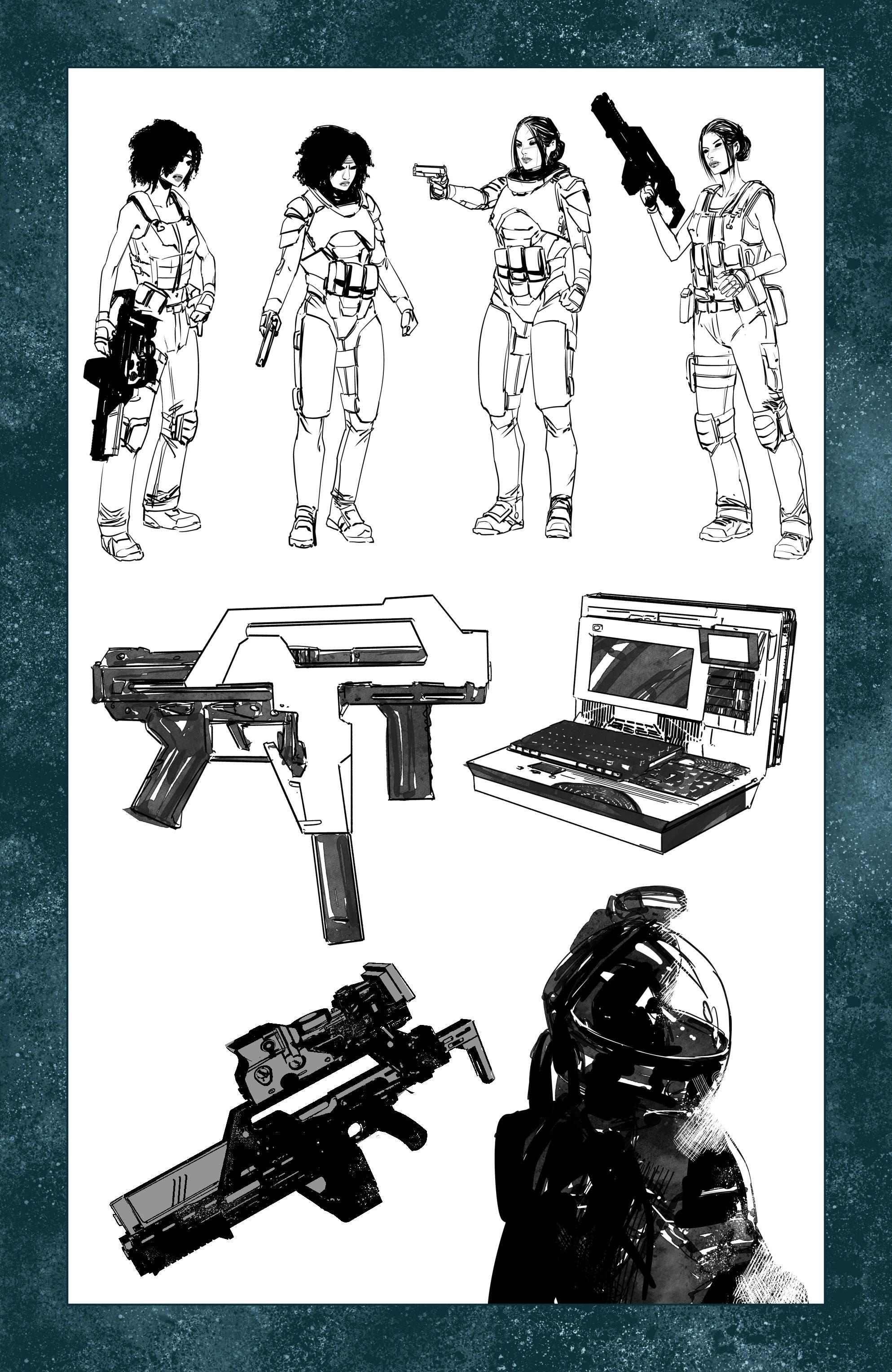 Read online Aliens: Resistance comic -  Issue # _TPB - 95