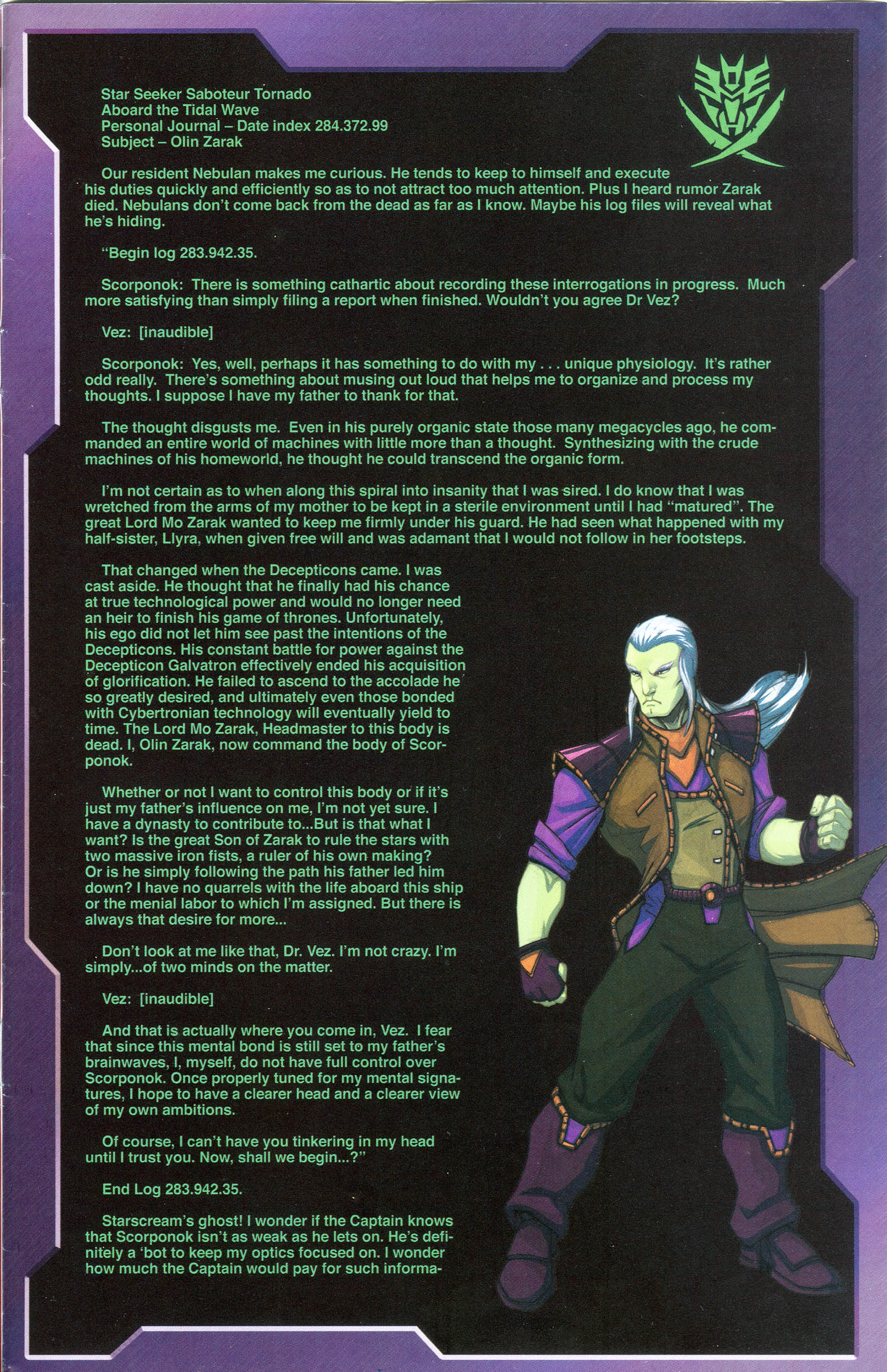 Read online Transformers: Collectors' Club comic -  Issue #56 - 15