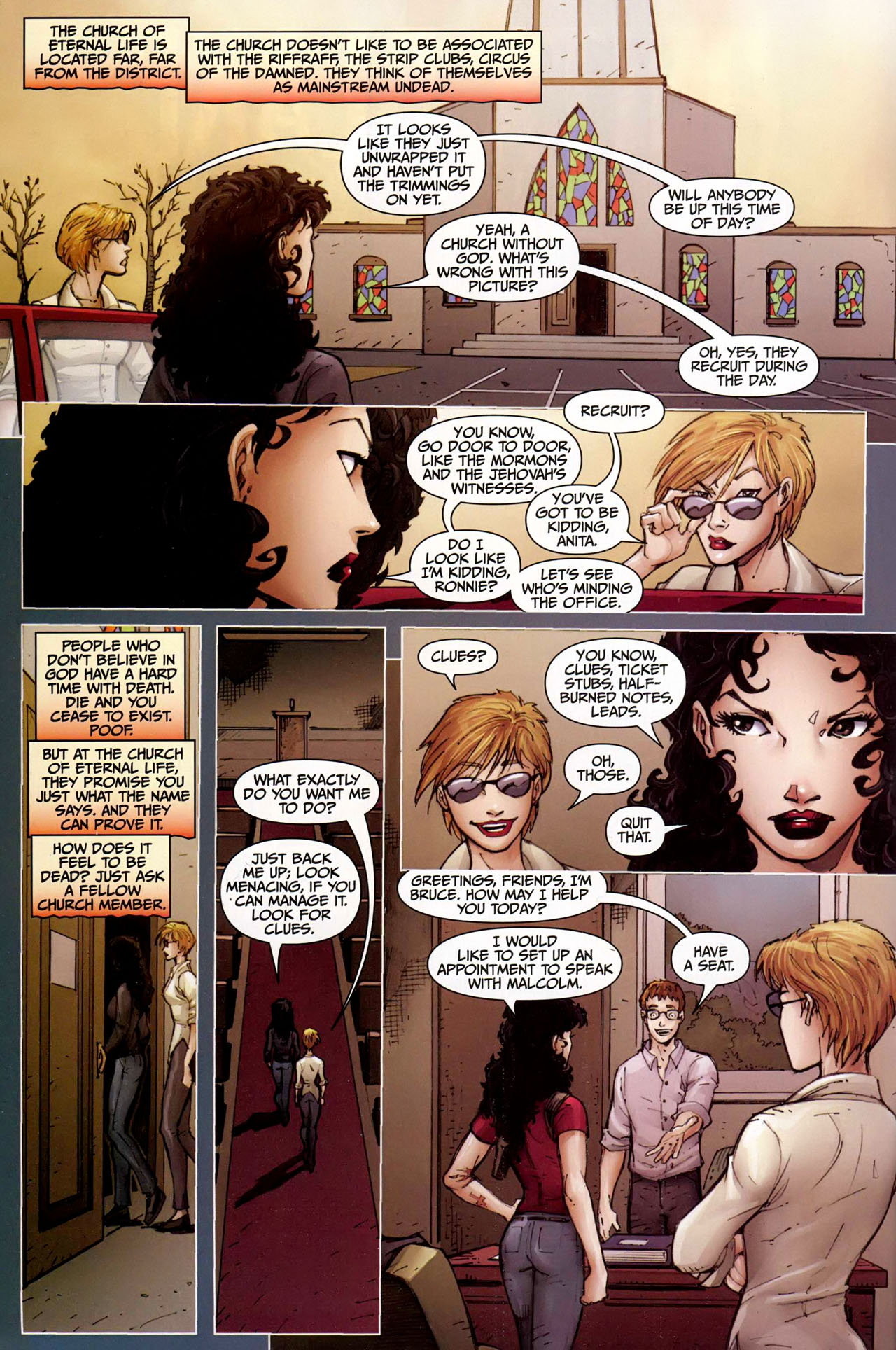 Read online Anita Blake, Vampire Hunter: Guilty Pleasures comic -  Issue #9 - 3