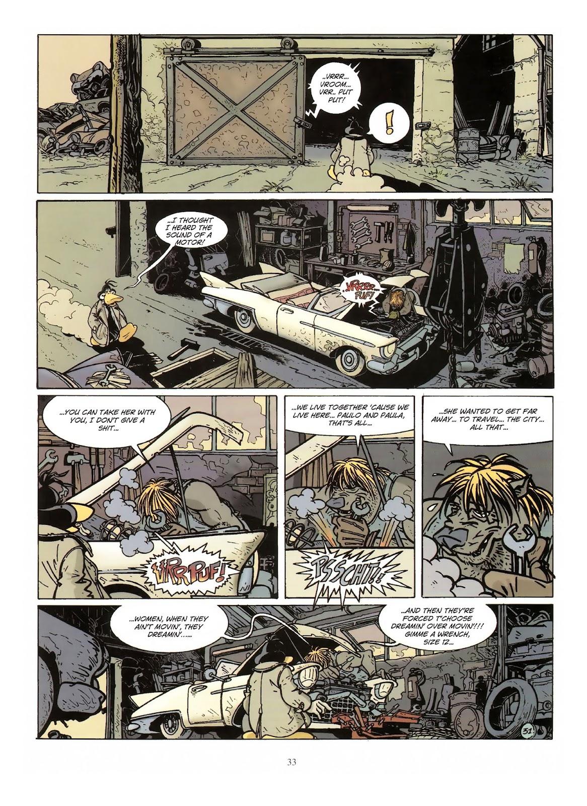 Une enquête de l'inspecteur Canardo issue 10 - Page 34