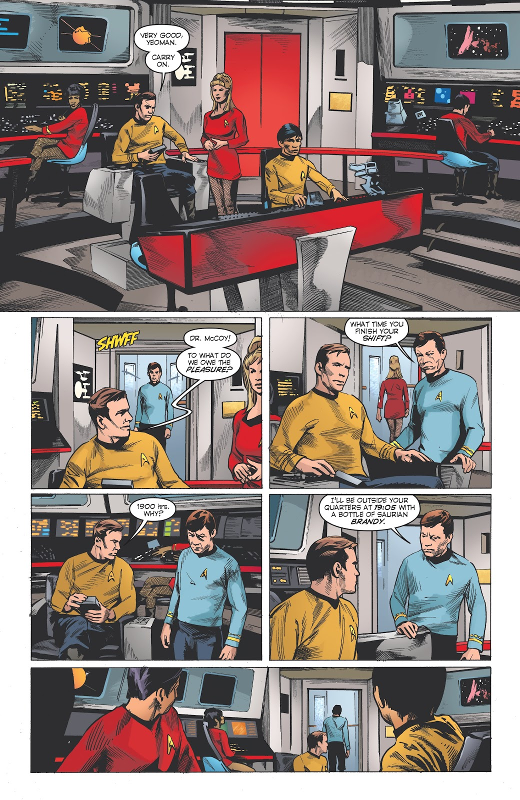 Read online Star Trek: Waypoint Special 2019 comic -  Issue # Full - 5