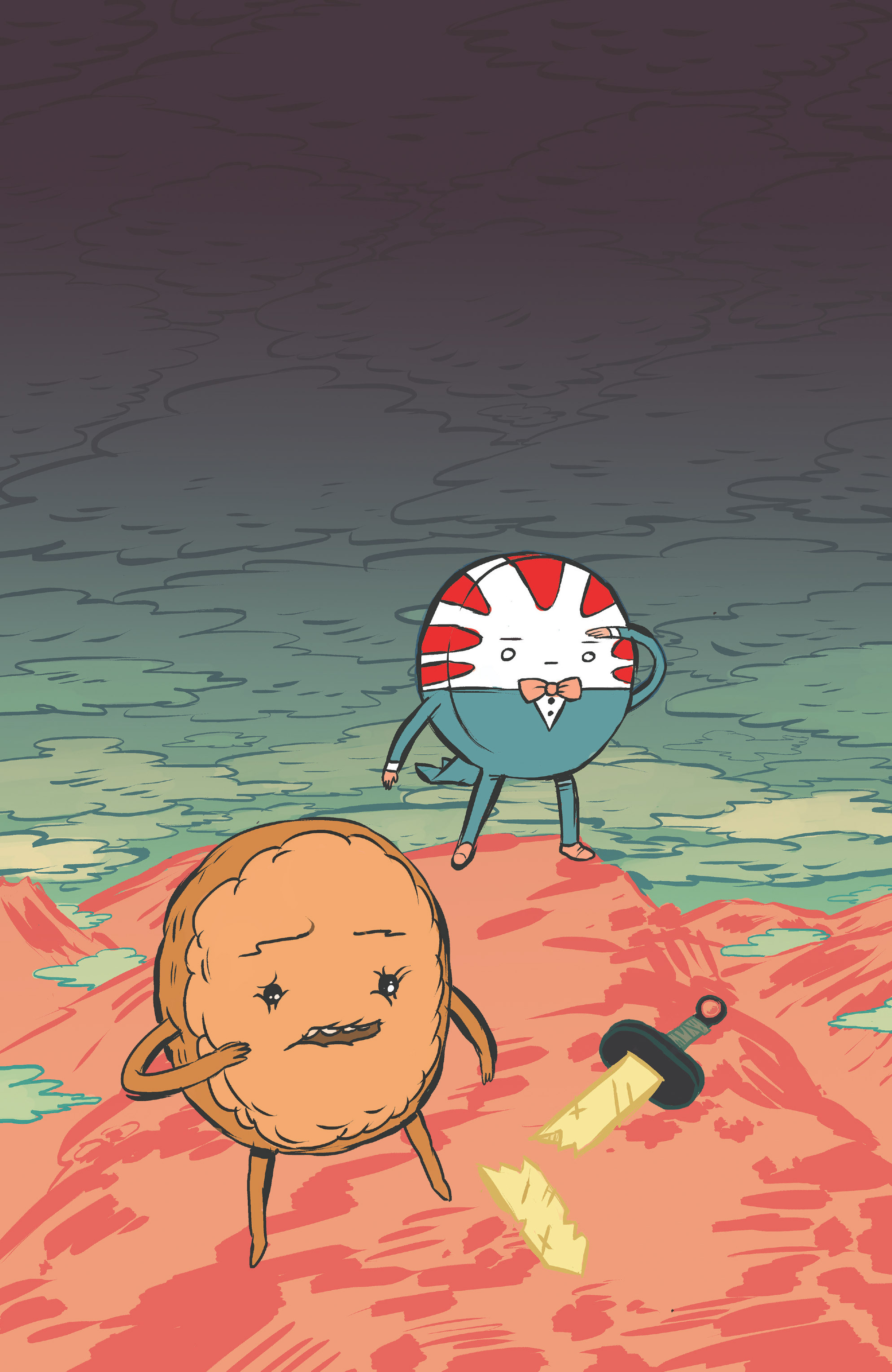 Read online Adventure Time: Candy Capers comic -  Issue #4 - 5