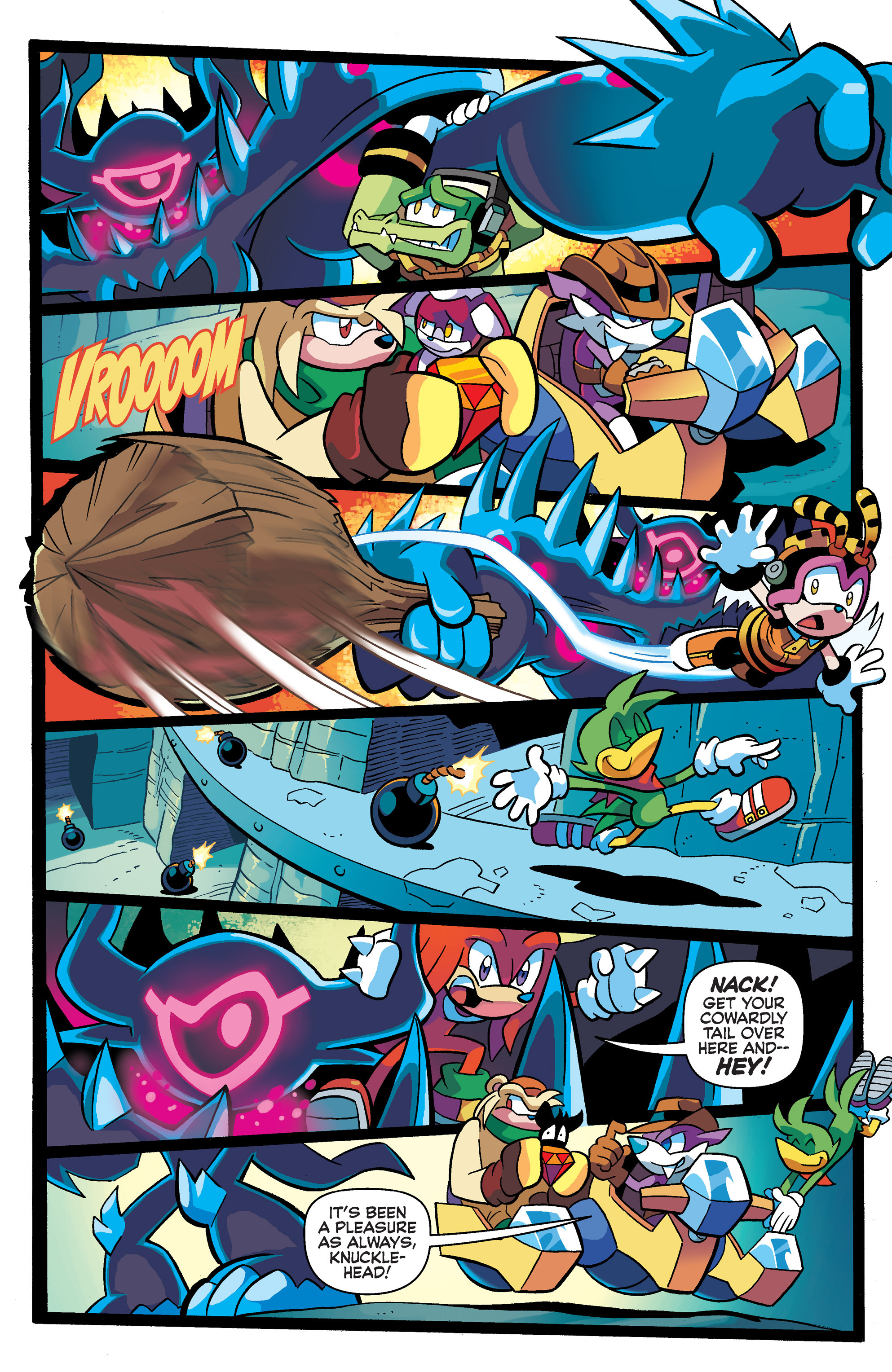 Read online Sonic Universe comic -  Issue #65 - 19