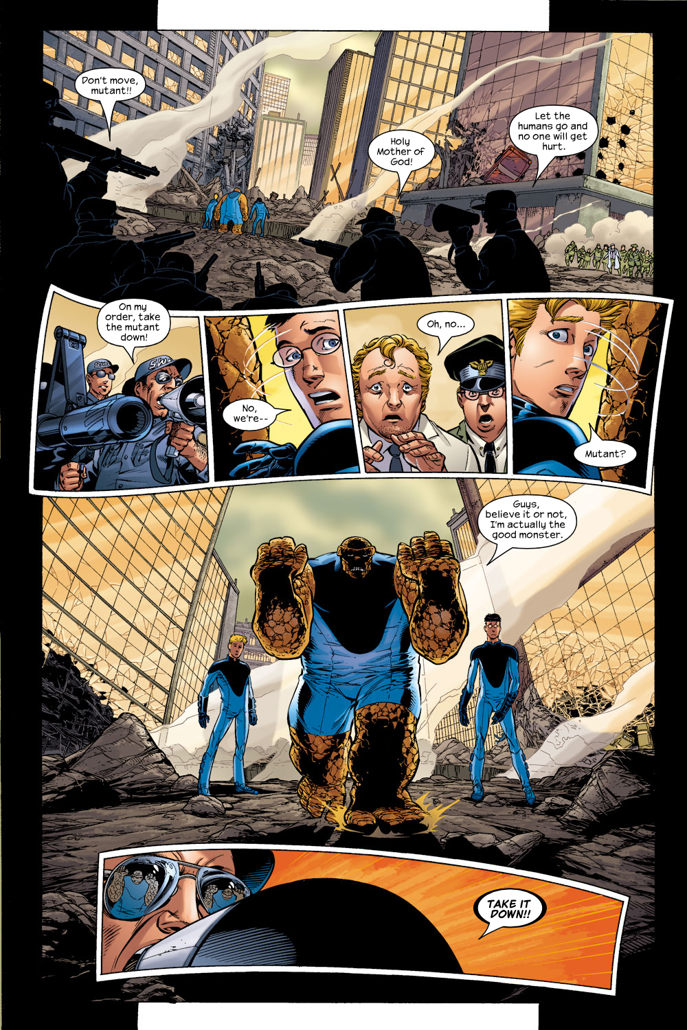 Read online Ultimate Fantastic Four (2004) comic -  Issue #5 - 11