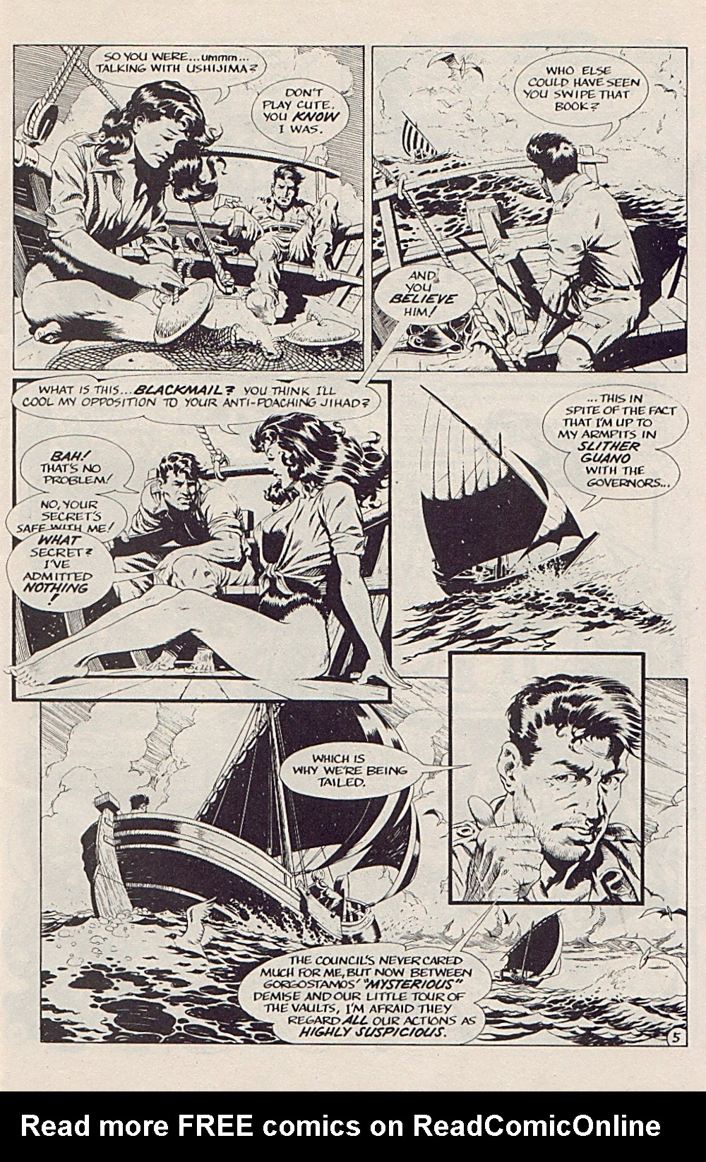Read online Xenozoic Tales comic -  Issue #5 - 8