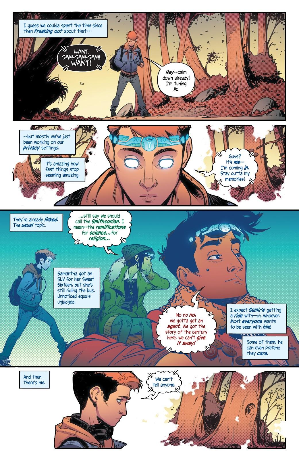 Read online Alienated comic -  Issue #2 - 7