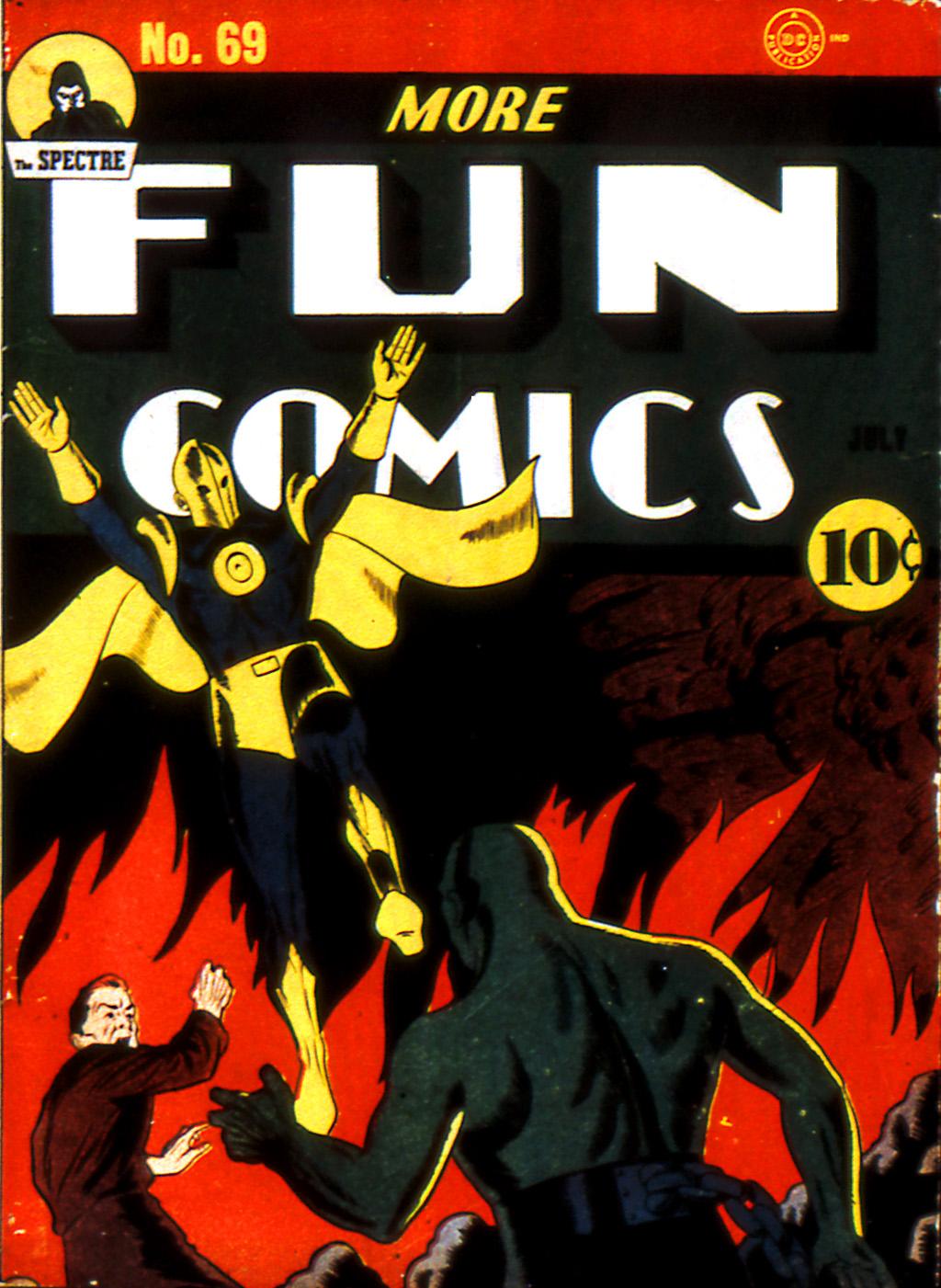More Fun Comics 69 Page 1