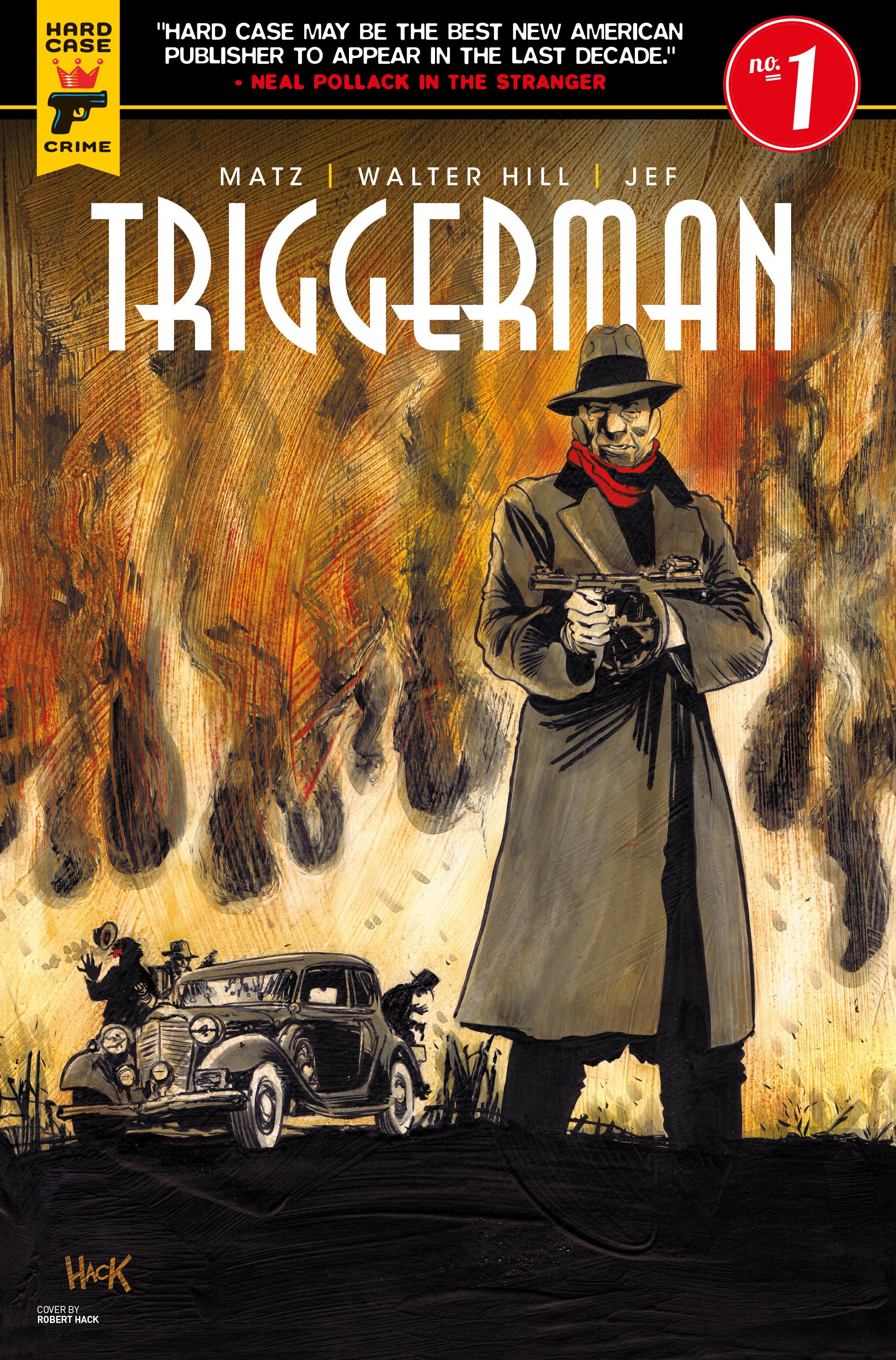 Read online Triggerman comic -  Issue #1 - 4