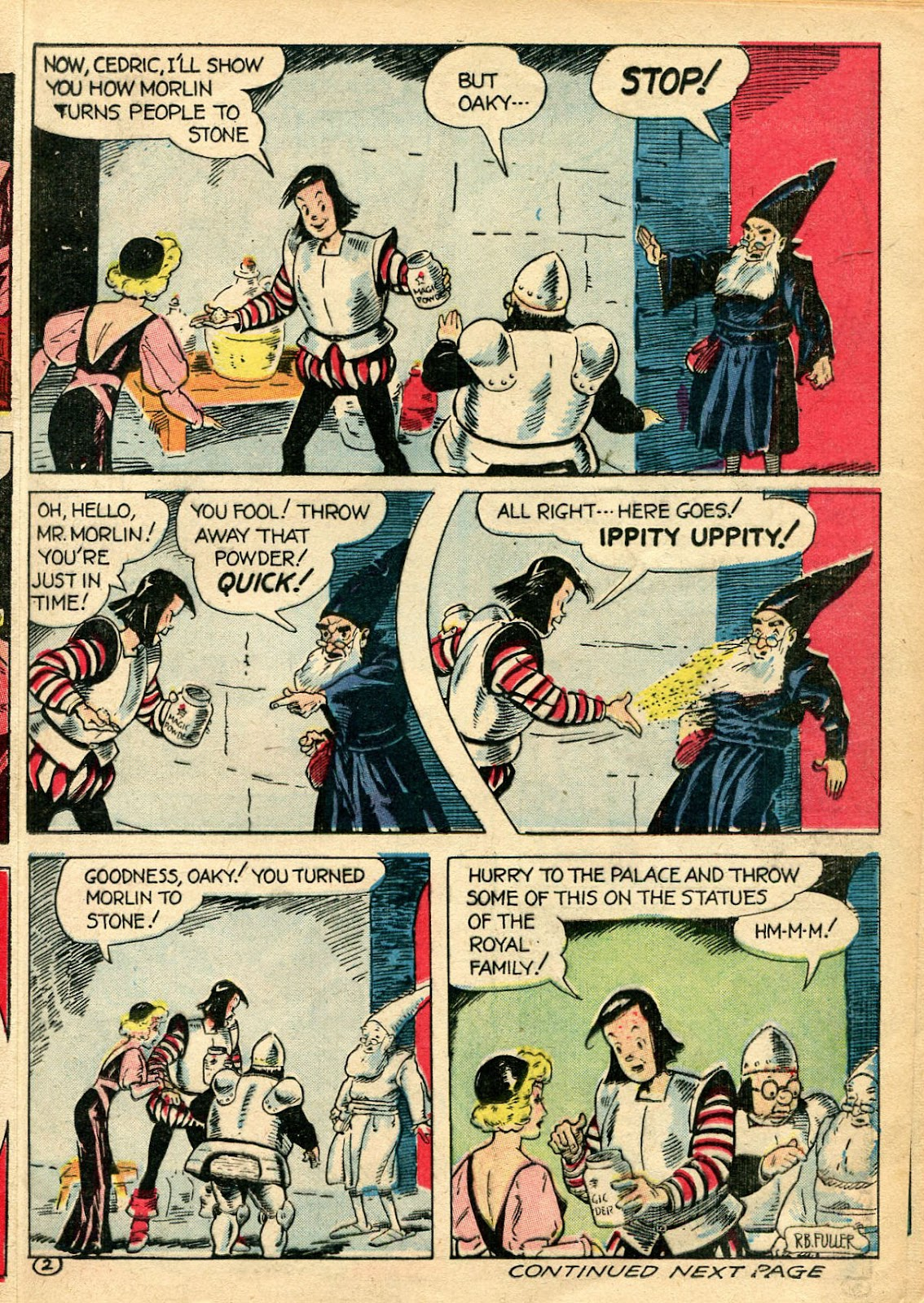 Read online Famous Funnies comic -  Issue #110 - 25