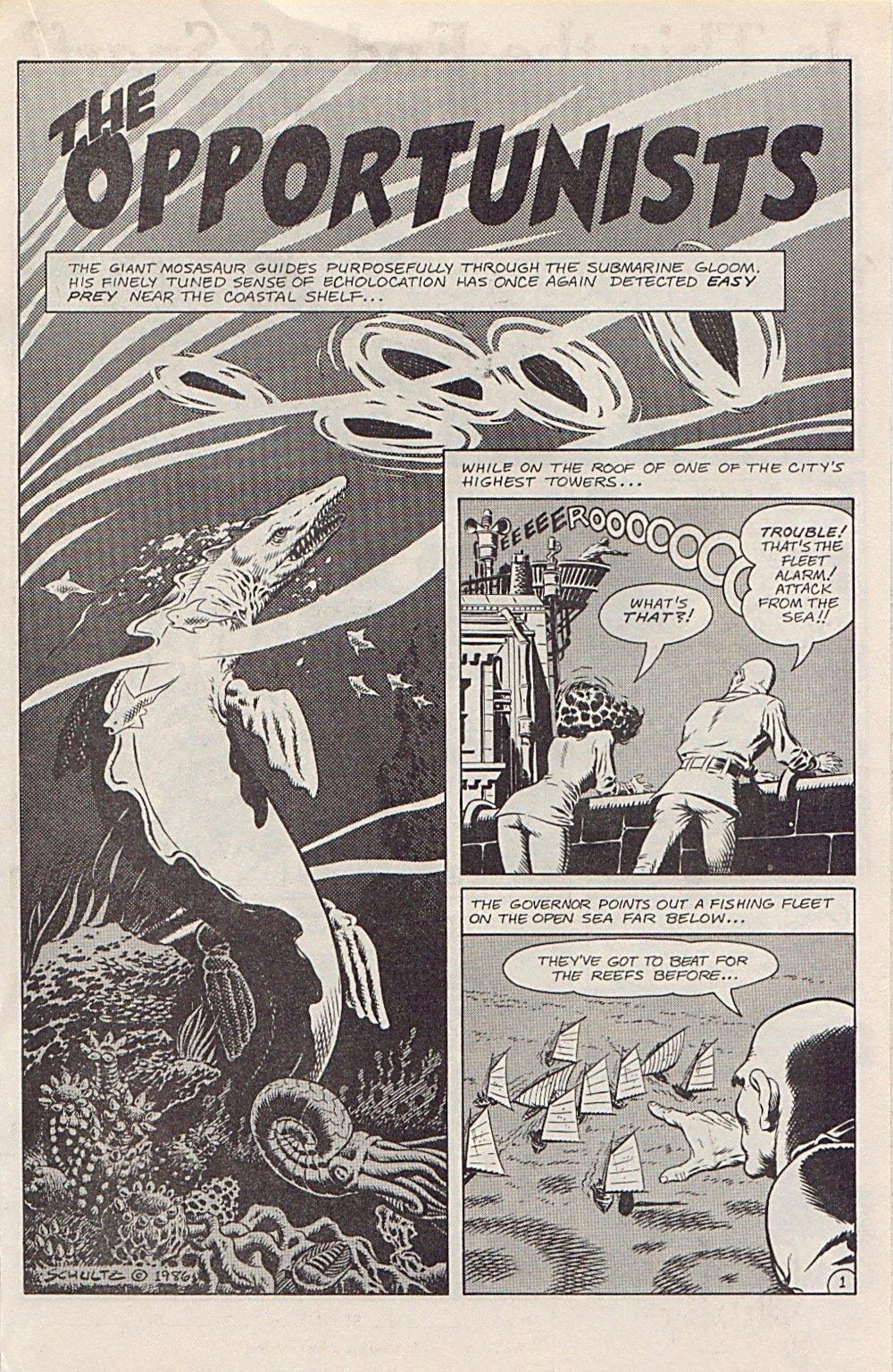 Read online Xenozoic Tales comic -  Issue #1 - 16
